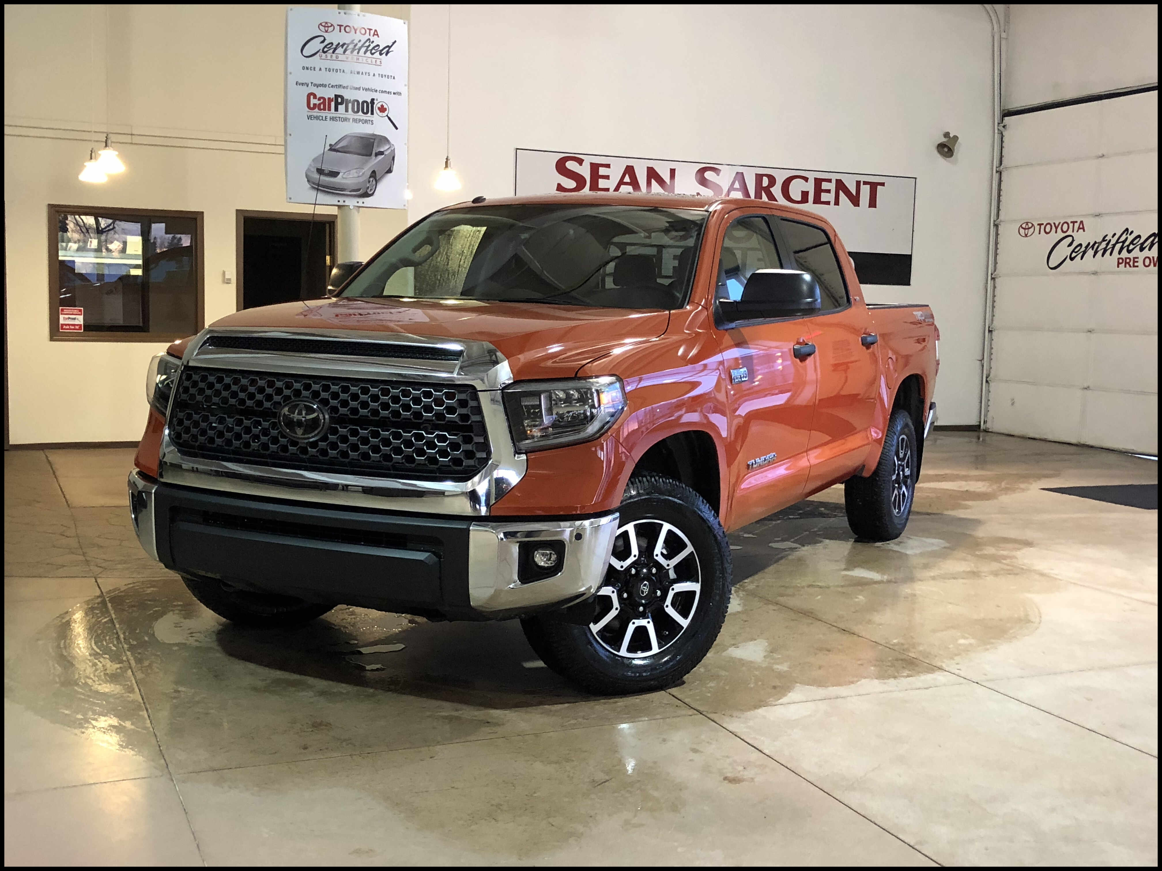 Special New 2018 toyota Tundra Trd F Road Crew Max In Grande Prairie Redesign