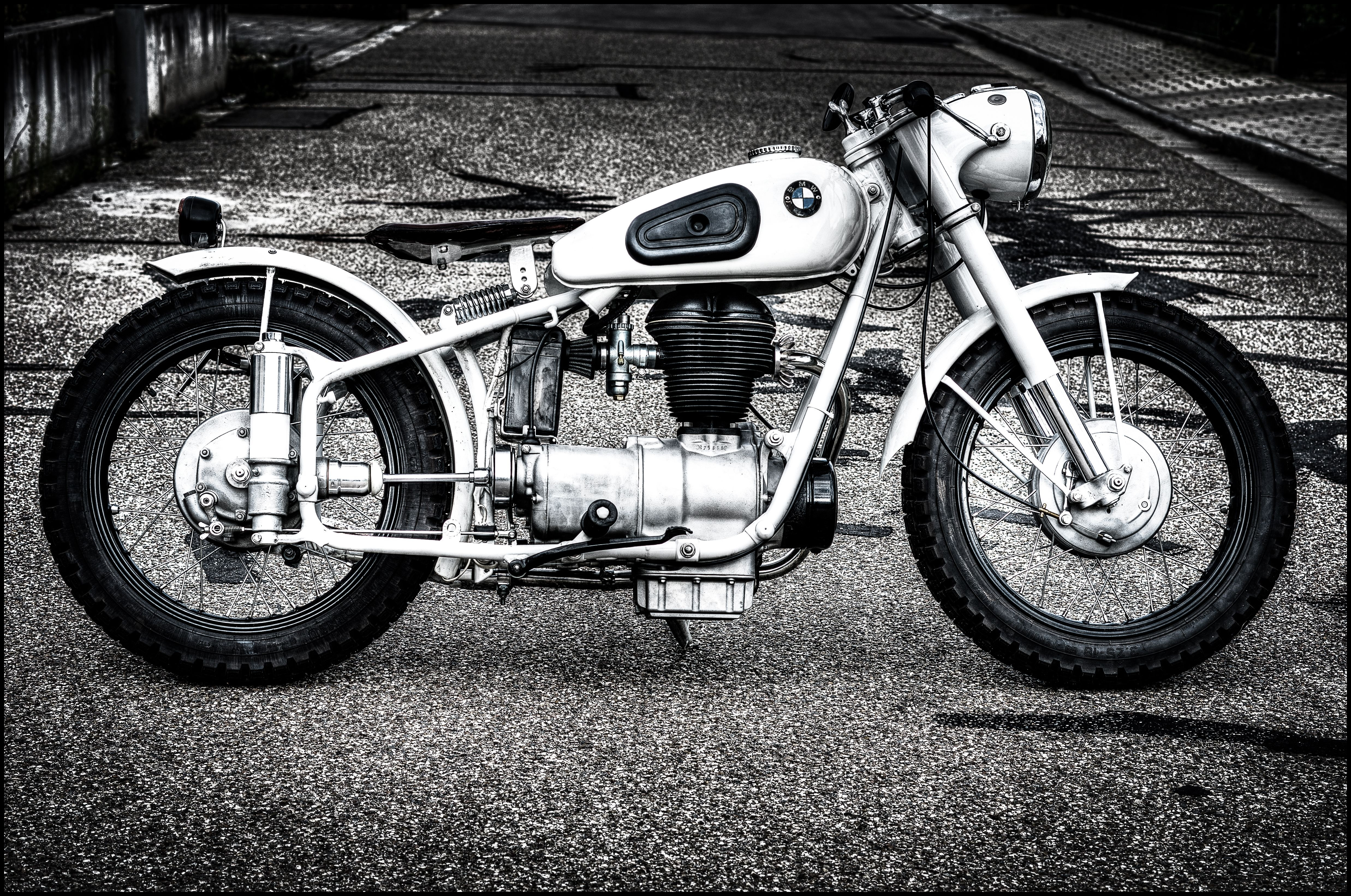 my 1954 bmw r25 3 bobber pic by photography