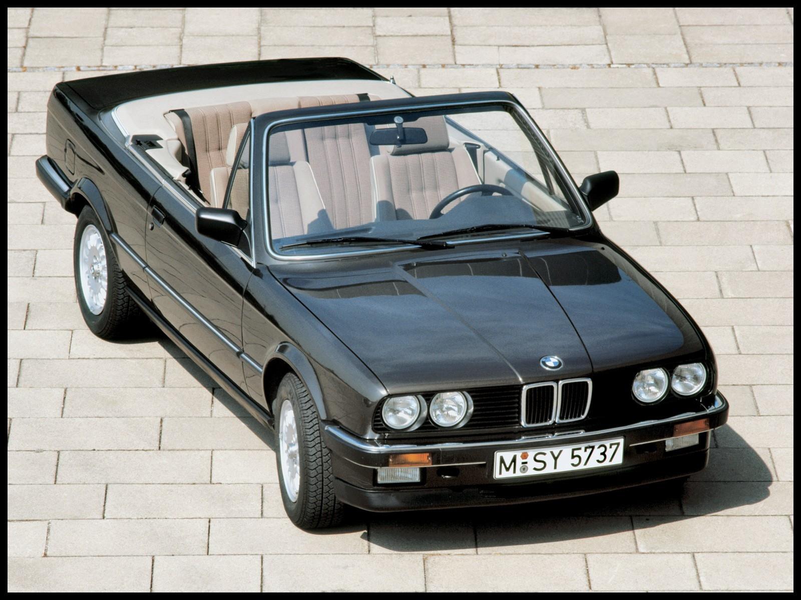 BMW 3 Series Cabriolet E30 1986 1993