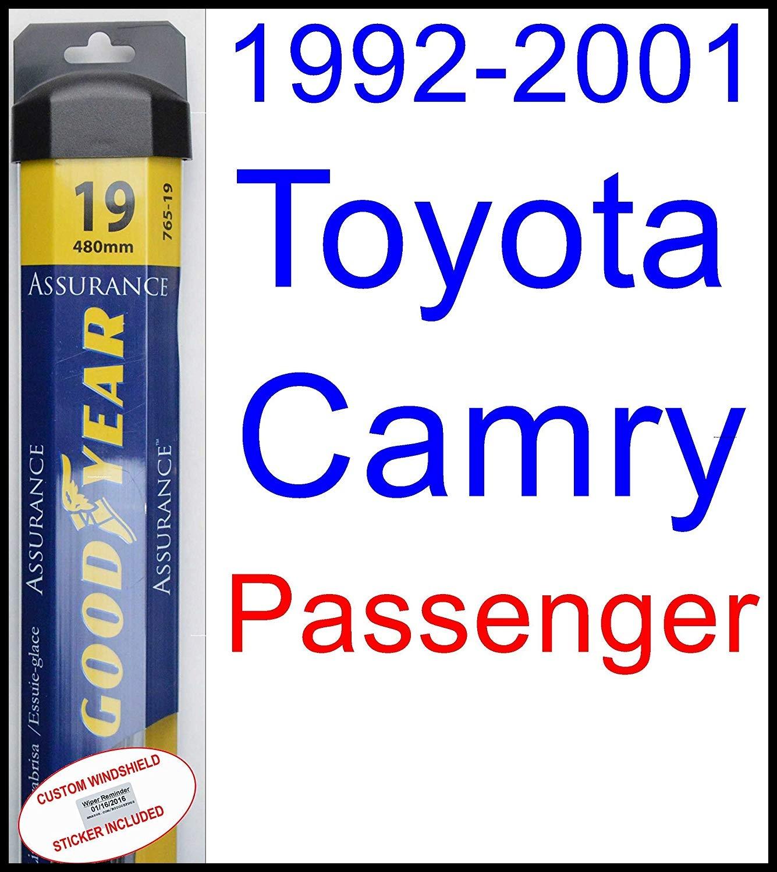 Amazon 1992 2001 Toyota Camry Wiper Blade Driver Goodyear Wiper Blades Assurance 1993 1994 1995 1996 1997 1998 1999 2000 Automotive