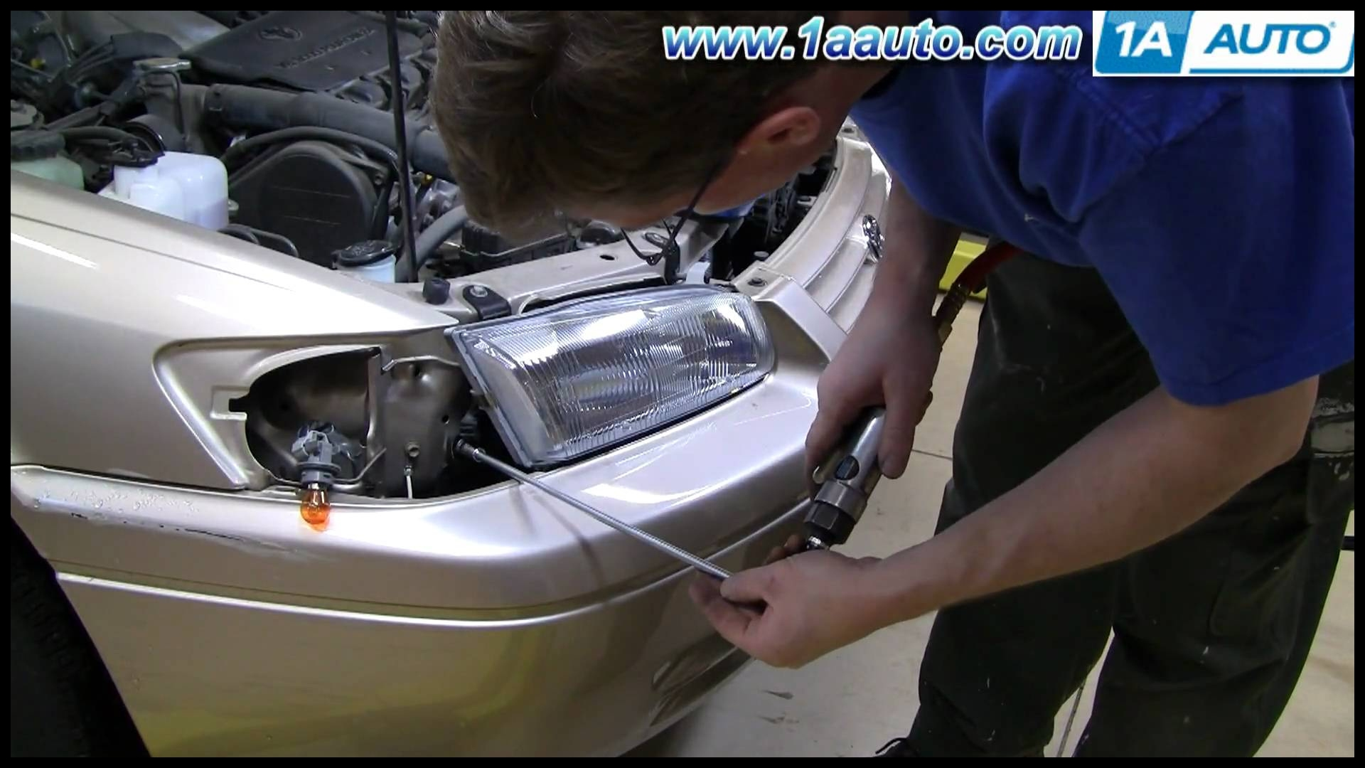 Hot News How to Install Replace Headlight toyota Camry 97 01 1aauto Picture
