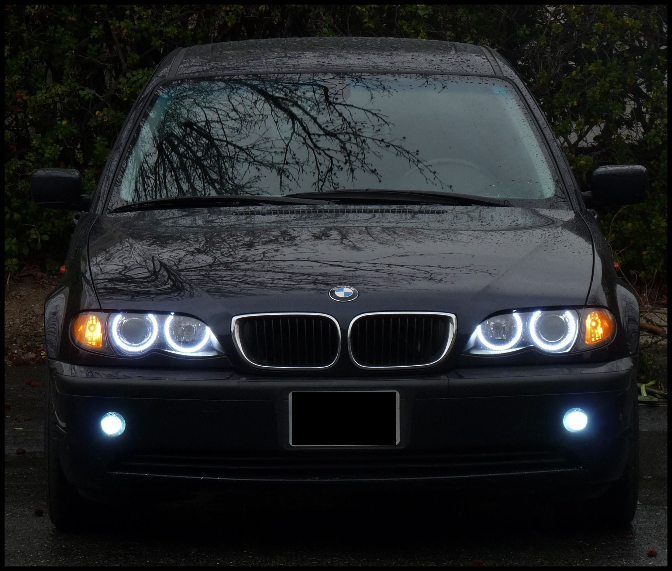 2000 Bmw 528i Headlights orion V2 Led Angel Eyes for Bmw E39 E46 X5 Z3 E36
