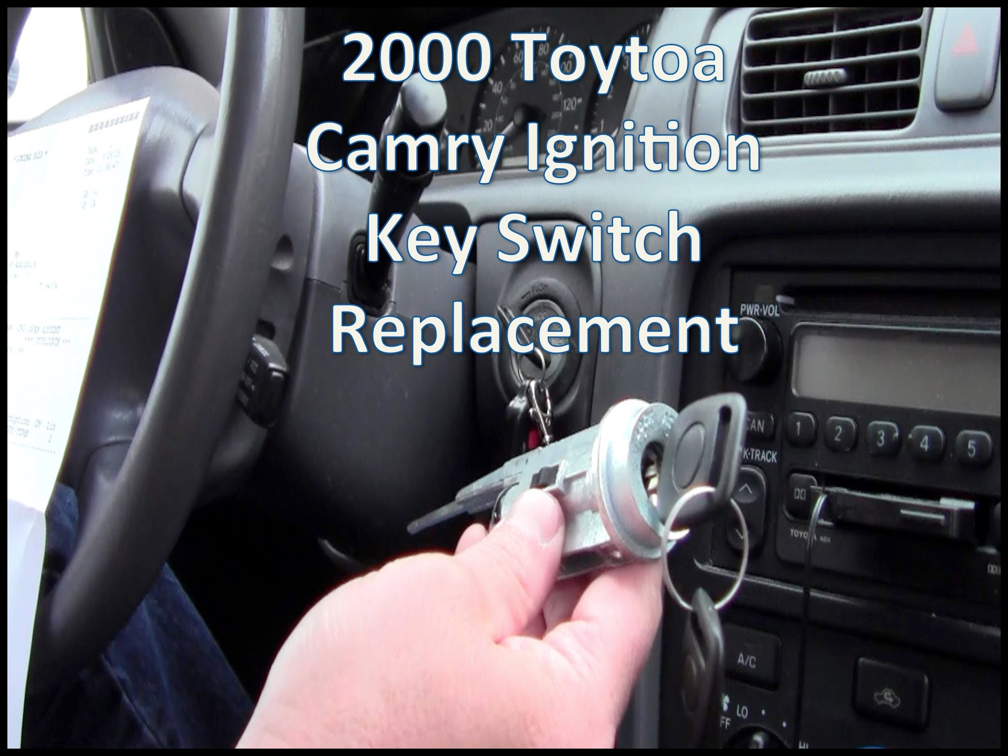 Toyota Van Key Won t Turn Beautiful Replace 2000 toyota Camry Key Ignition Switch