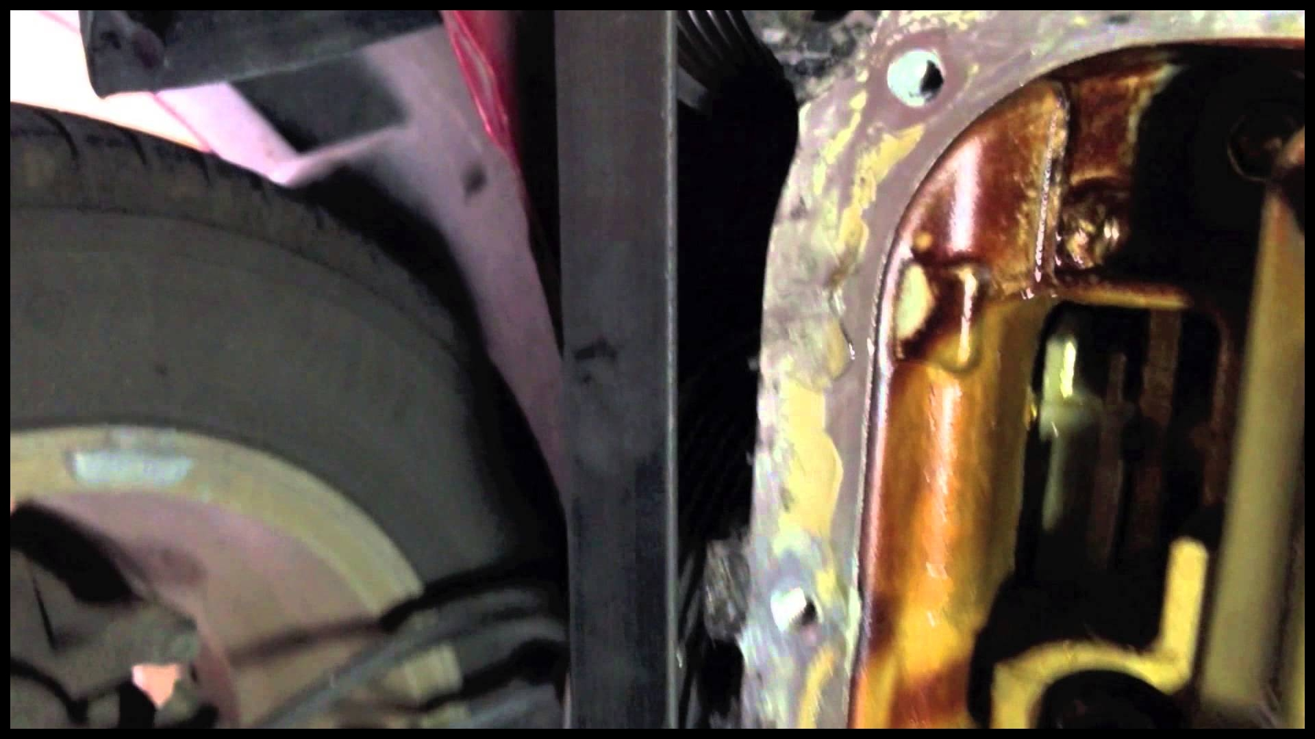 How to fix a leaky oil pan on the 2006 Toyota Corolla Matrix XRS and replace MTF