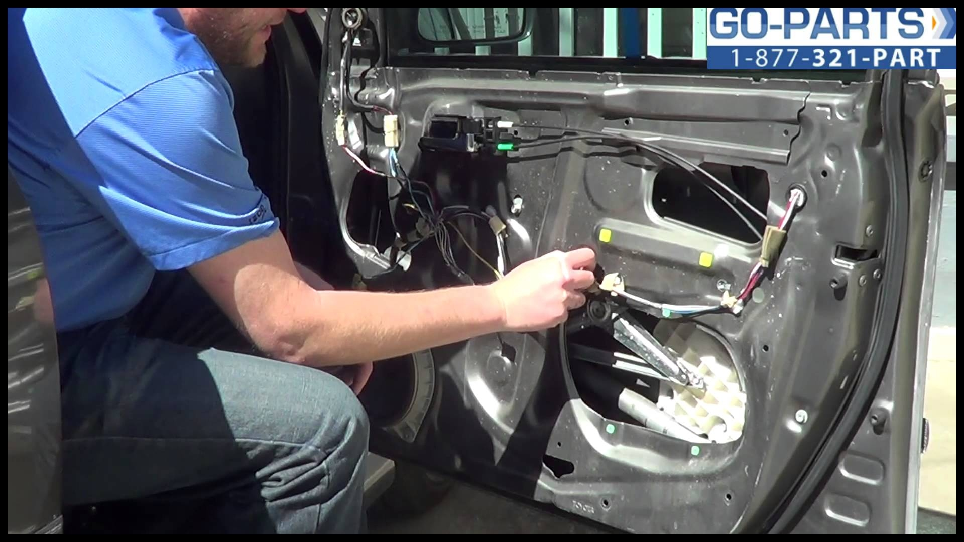 Replace 2003 2008 Toyota Corolla Front Power Window Regulator How to Change Install 04 05 06 07