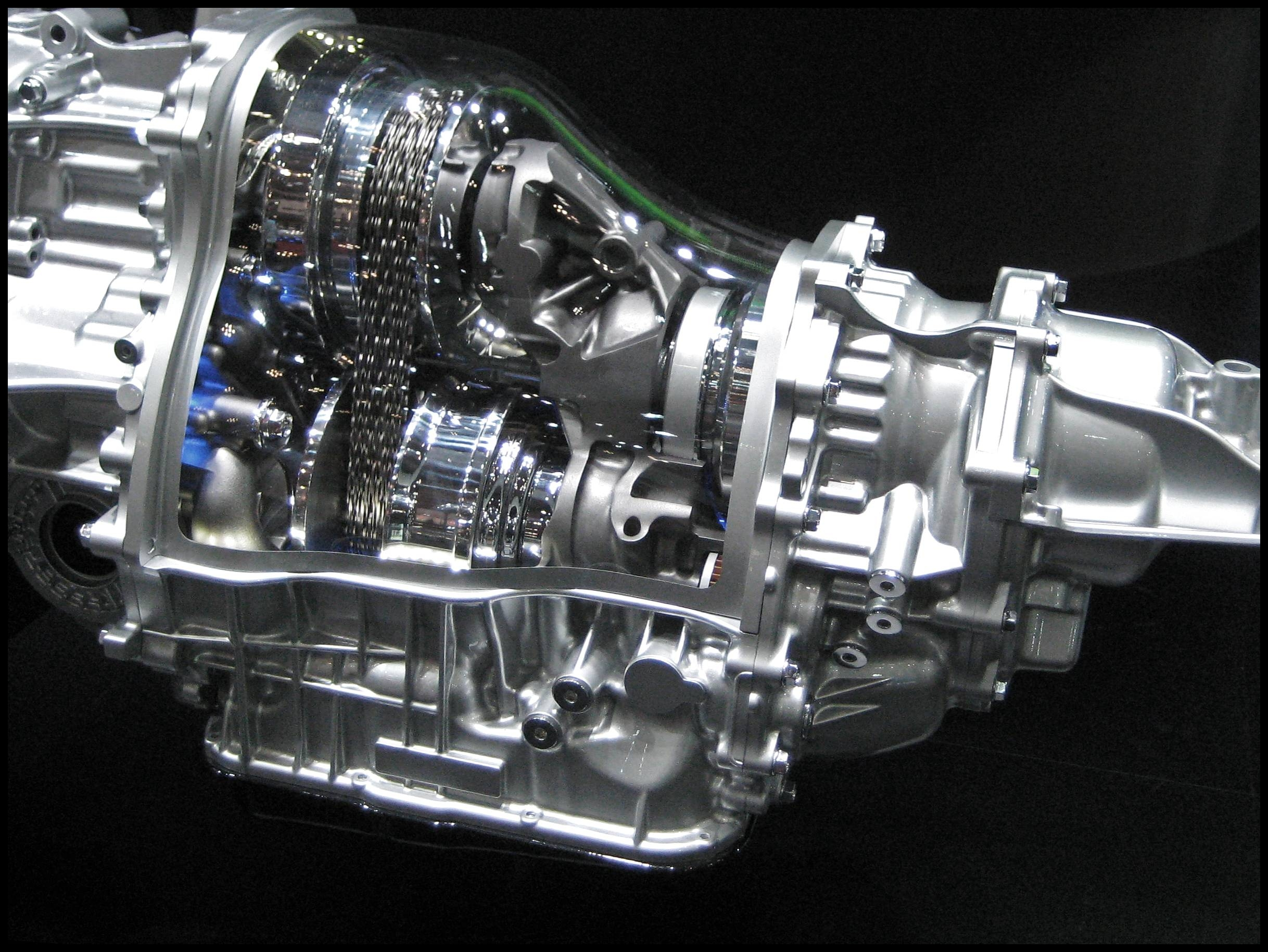 How to Save Money on a Transmission Rebuild Subaru Lineartronic transmission in Tokyo Motor Show 2009