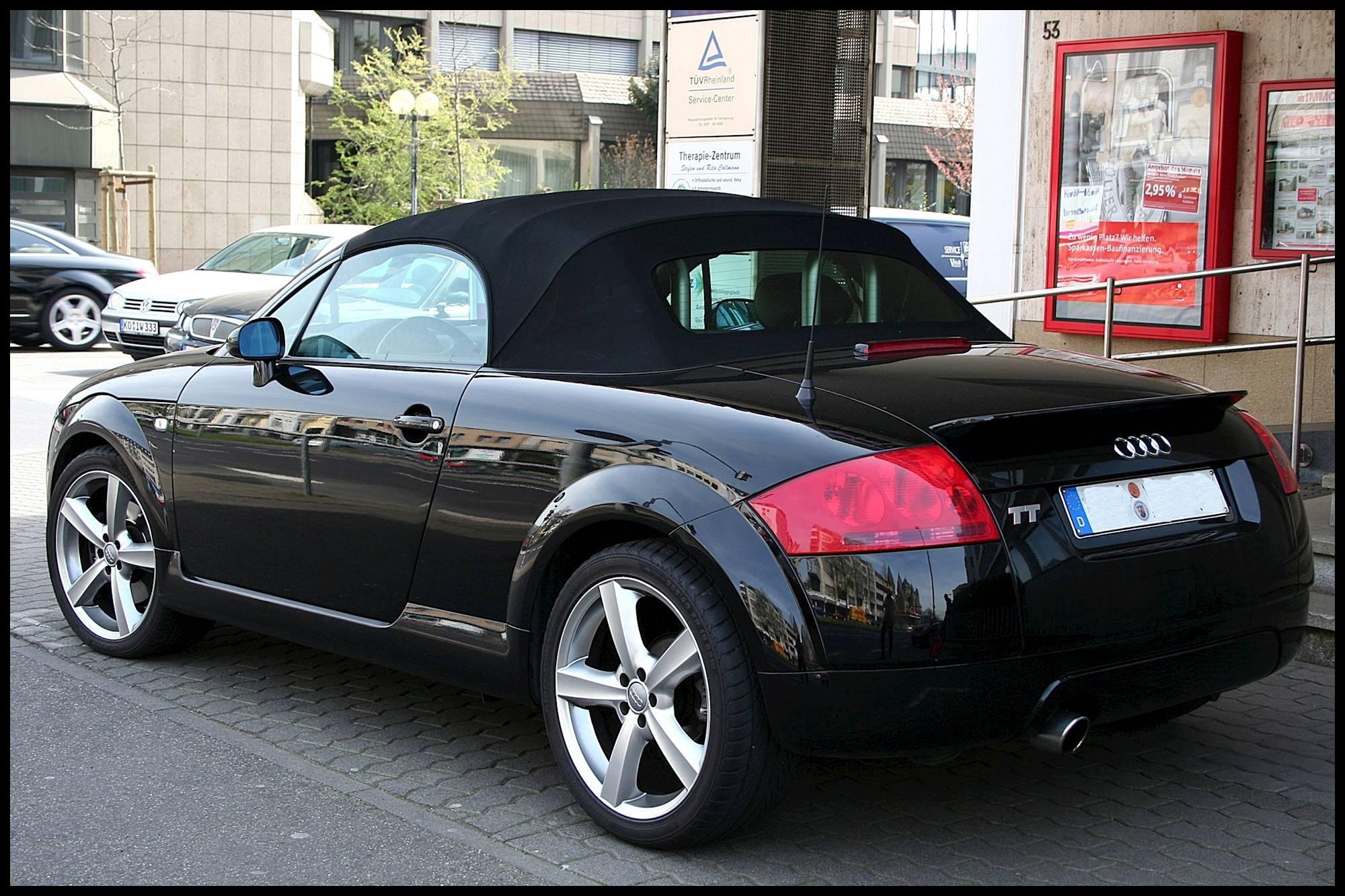 2002 Audi TT 1 8L 225 HP 2dr All wheel Drive Quattro Coupe 6 spd manual w OD