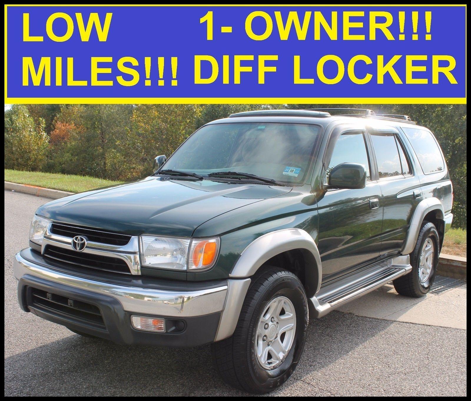 Hot News Nice Awesome 2002 toyota 4runner Sr5 2002 4runner Sr5 4x4 Diff Lock Exterior