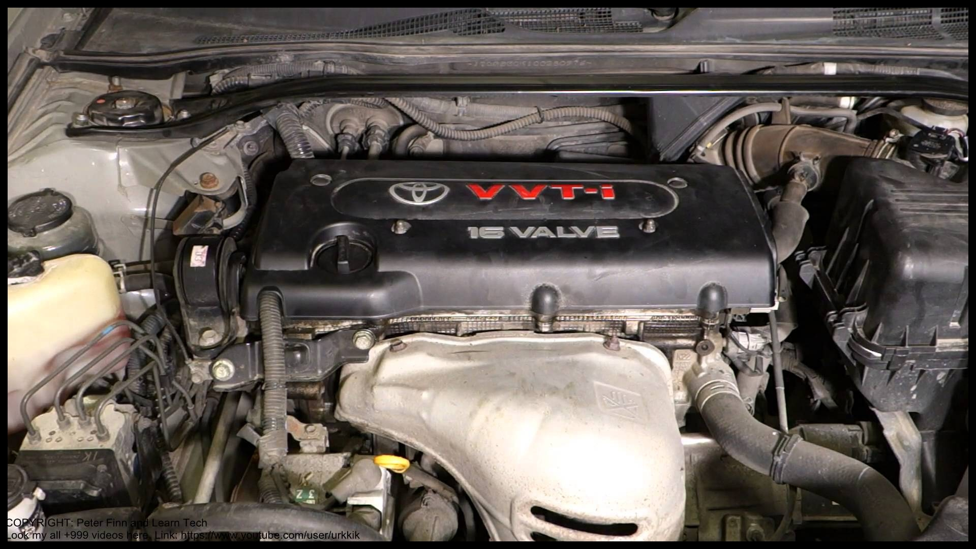 Where is my Toyota Camry 2 4 VVT i engine type code place