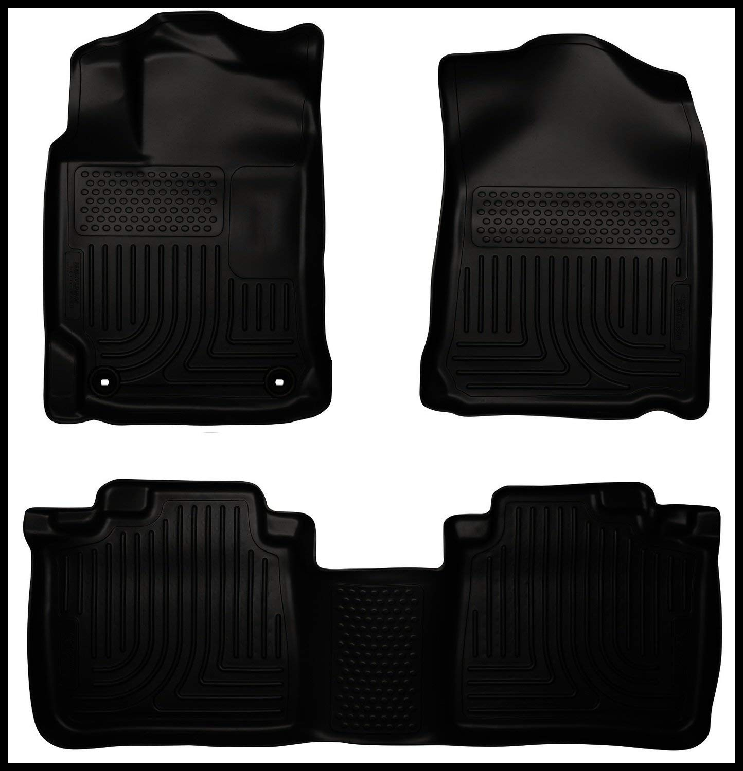 Amazon Husky Liners Front & 2nd Seat Floor Liners Fits 12 17 Camry Automotive