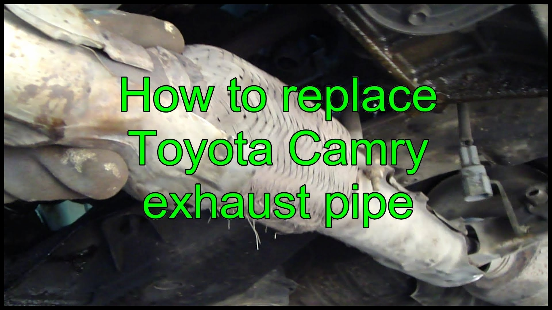 2005 toyota Corolla Exhaust System Diagram How to Replace toyota Camry Exhaust Pipe Years 1992 to