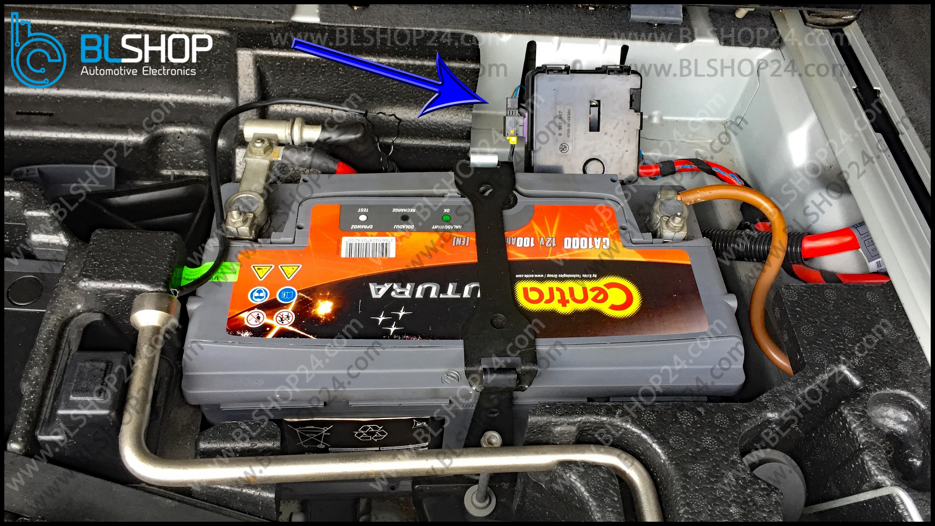 Battery Safety Terminal emulator installation Step 1