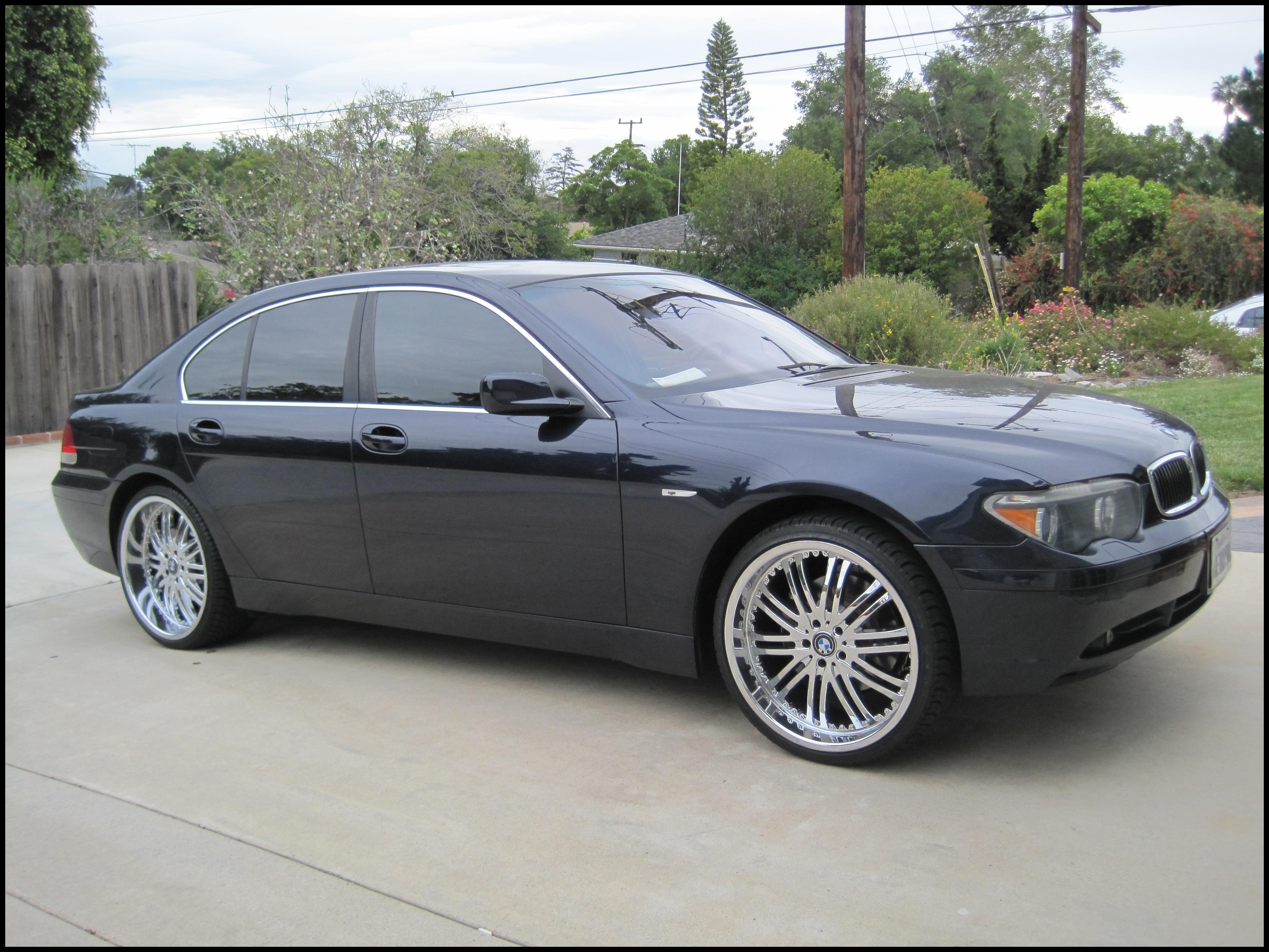number30 2003 BMW 7 Series original