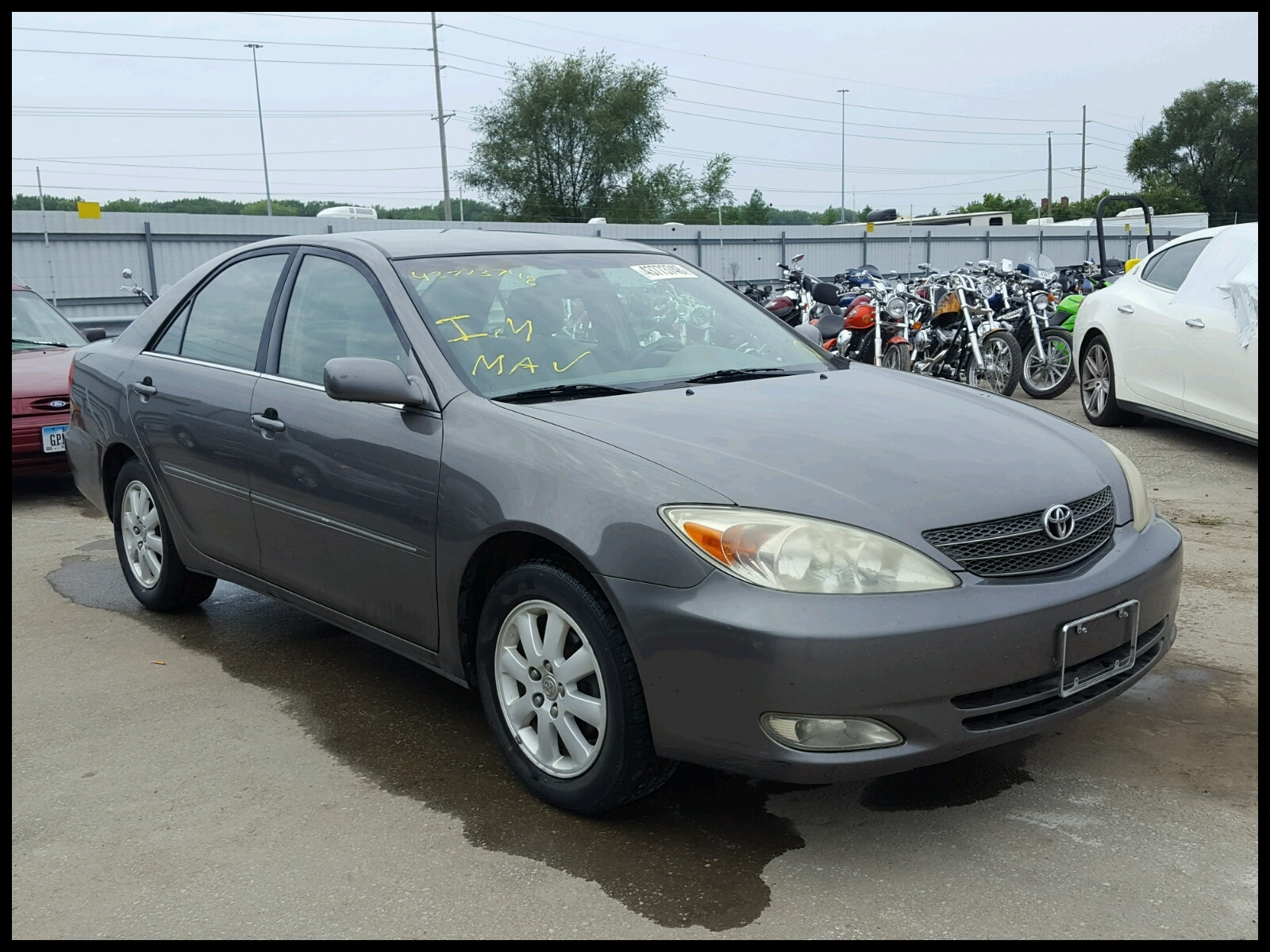 4T1BE32K23U 2003 TOYOTA CAMRY LE 2 4L Left View 4T1BE32K23U
