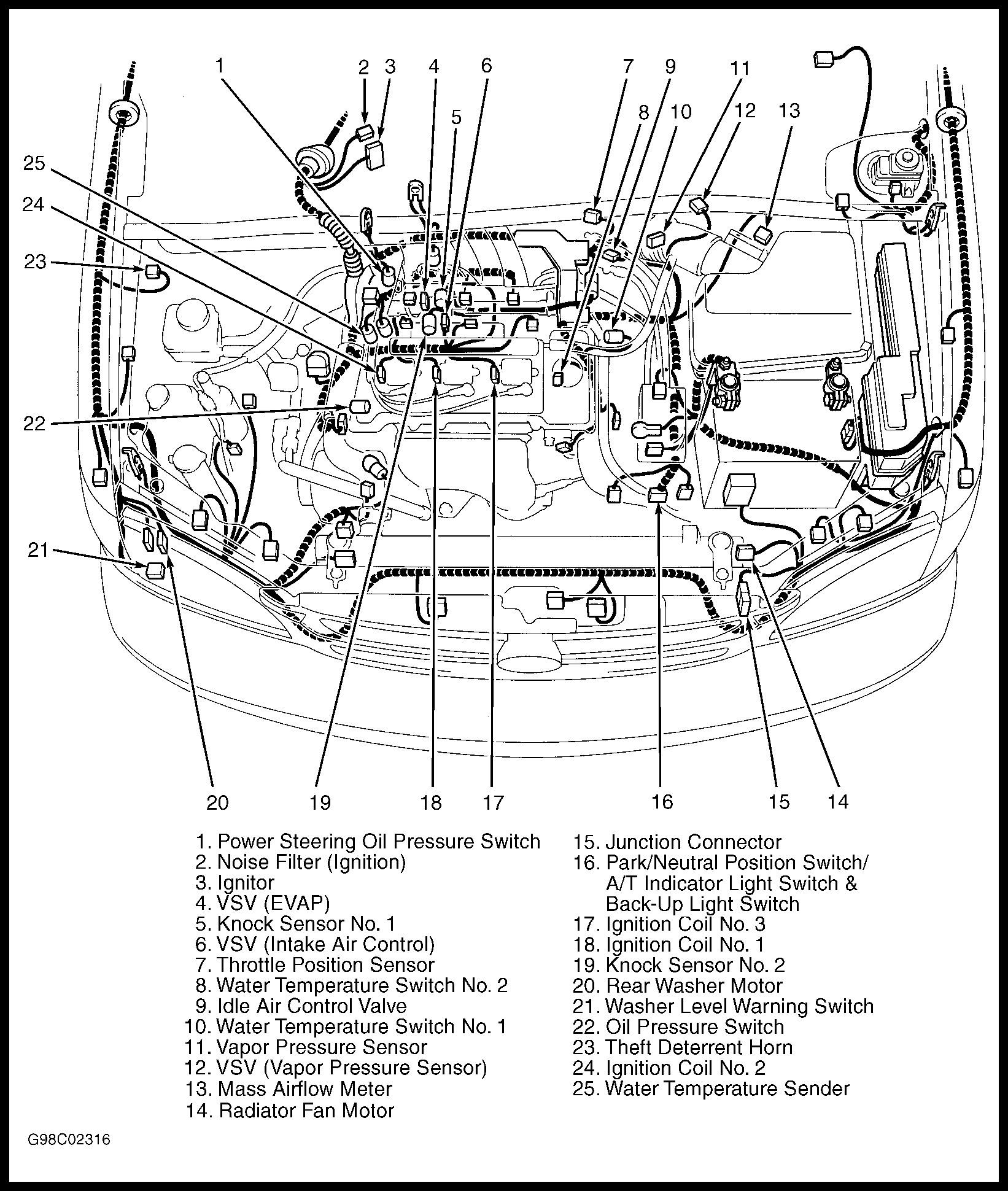 toyota v4 engine diagram smart wiring diagrams u2022 rh krakencraft co 2006 toyota rav4 engine diagram