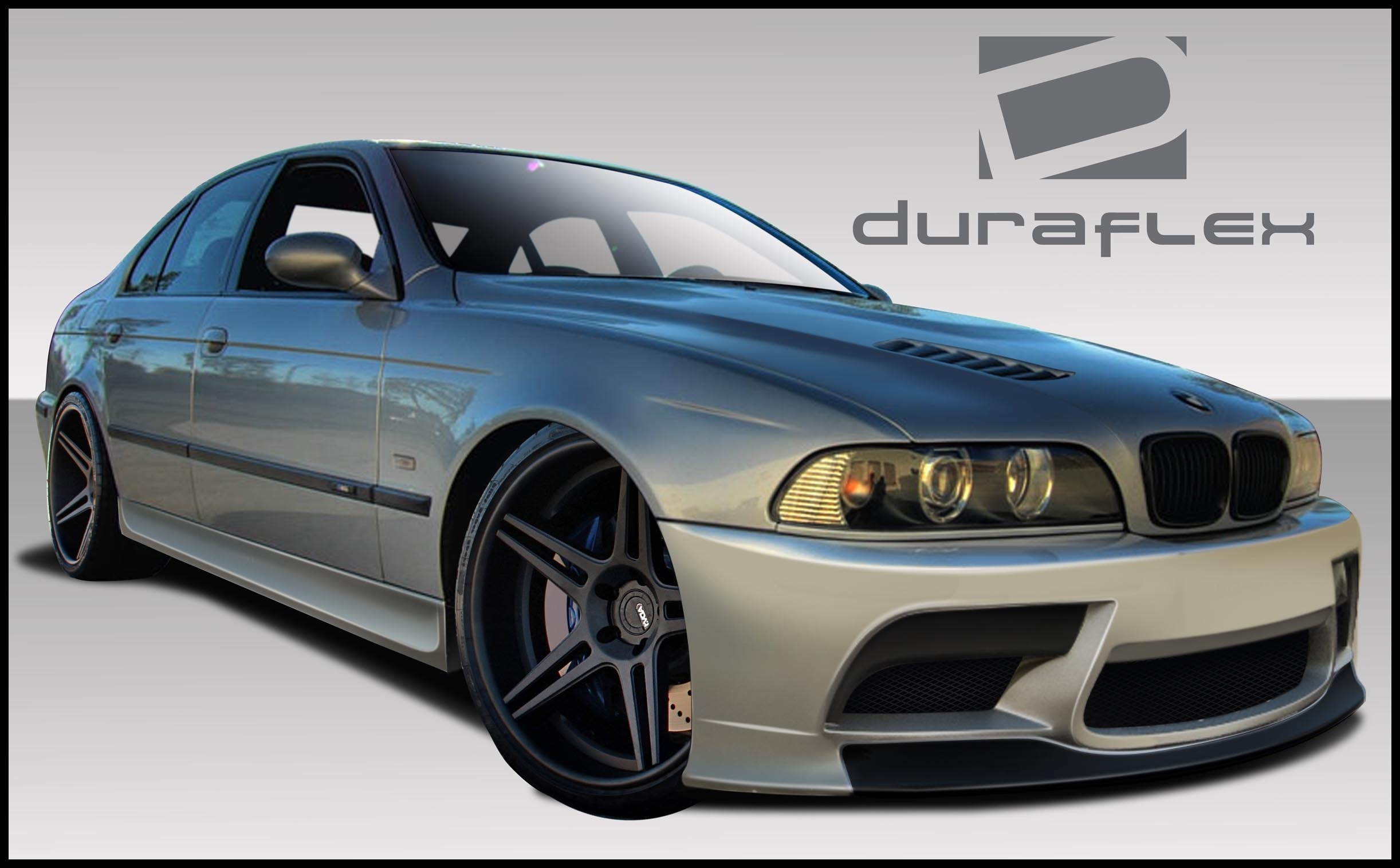 1997 2003 BMW 5 Series E39 Duraflex GT S Body Kit 4 Piece Body Kit