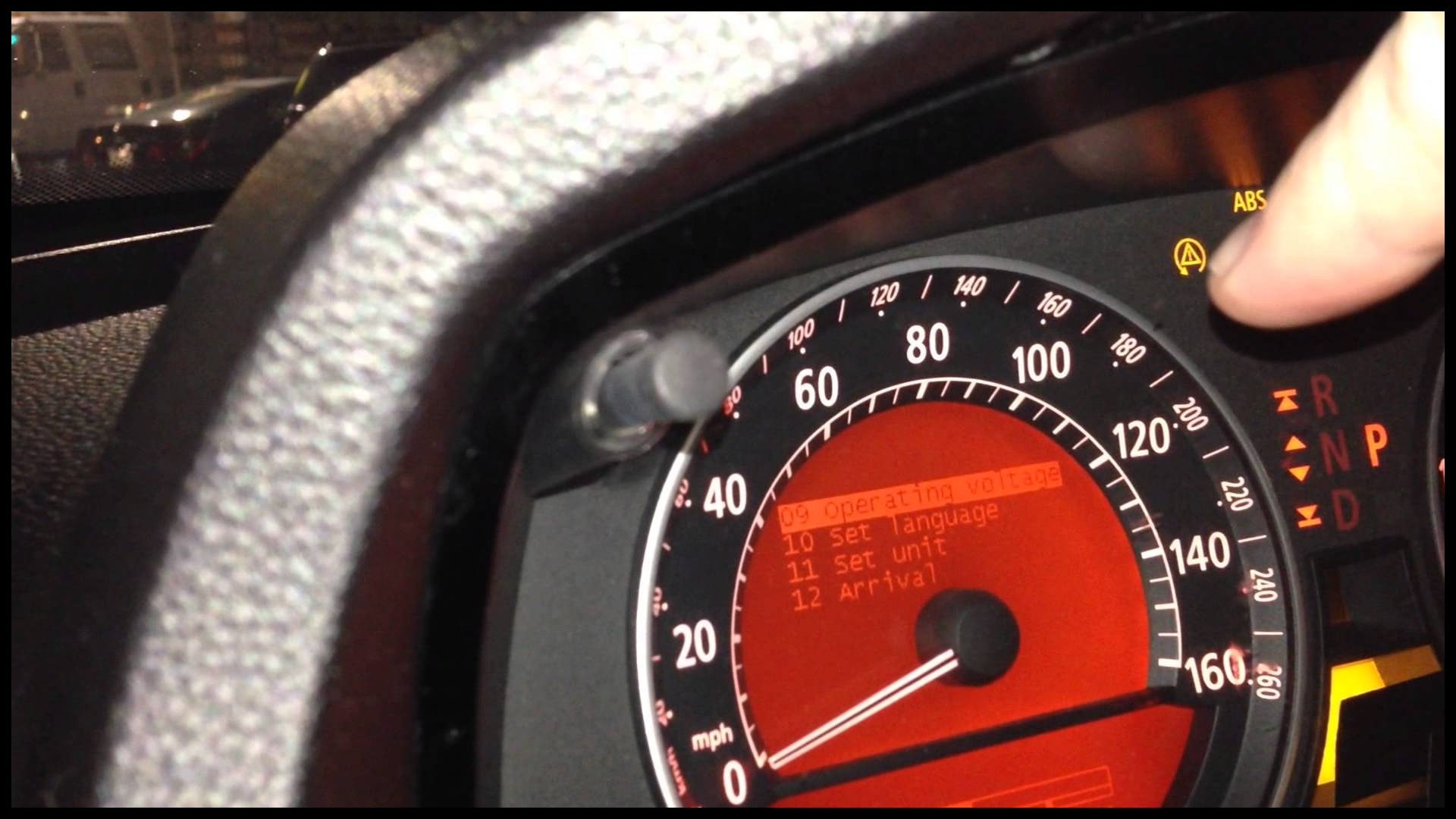 BMW E65 E66 Unlock Dashboard To See Battery Voltage