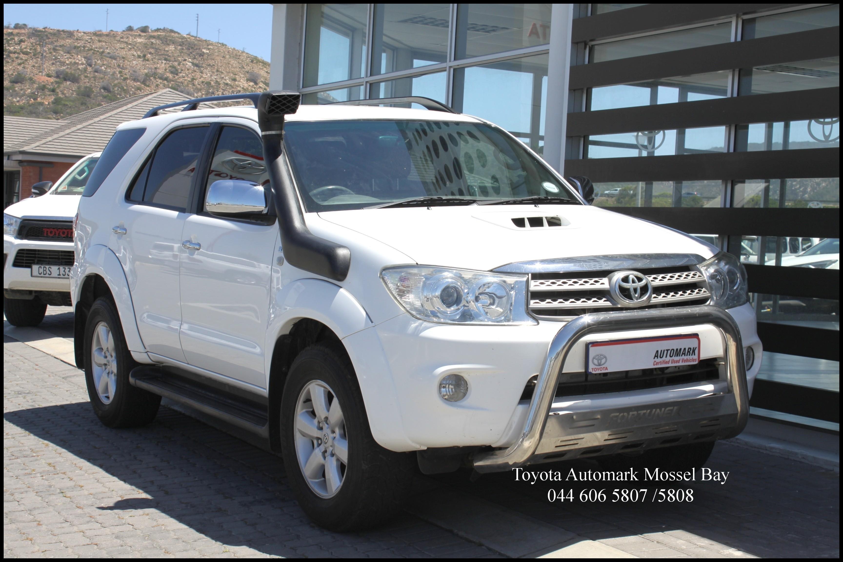 Toyota Rav4 2009 New 2011 toyota fortuner 3 0d 4d 4—4 Auto Mossel Bay