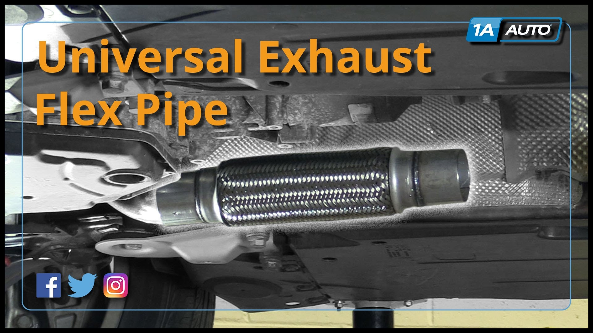 How to Permanently Attach Exhaust Flex Pipe No Clamps 2007 Audi A4