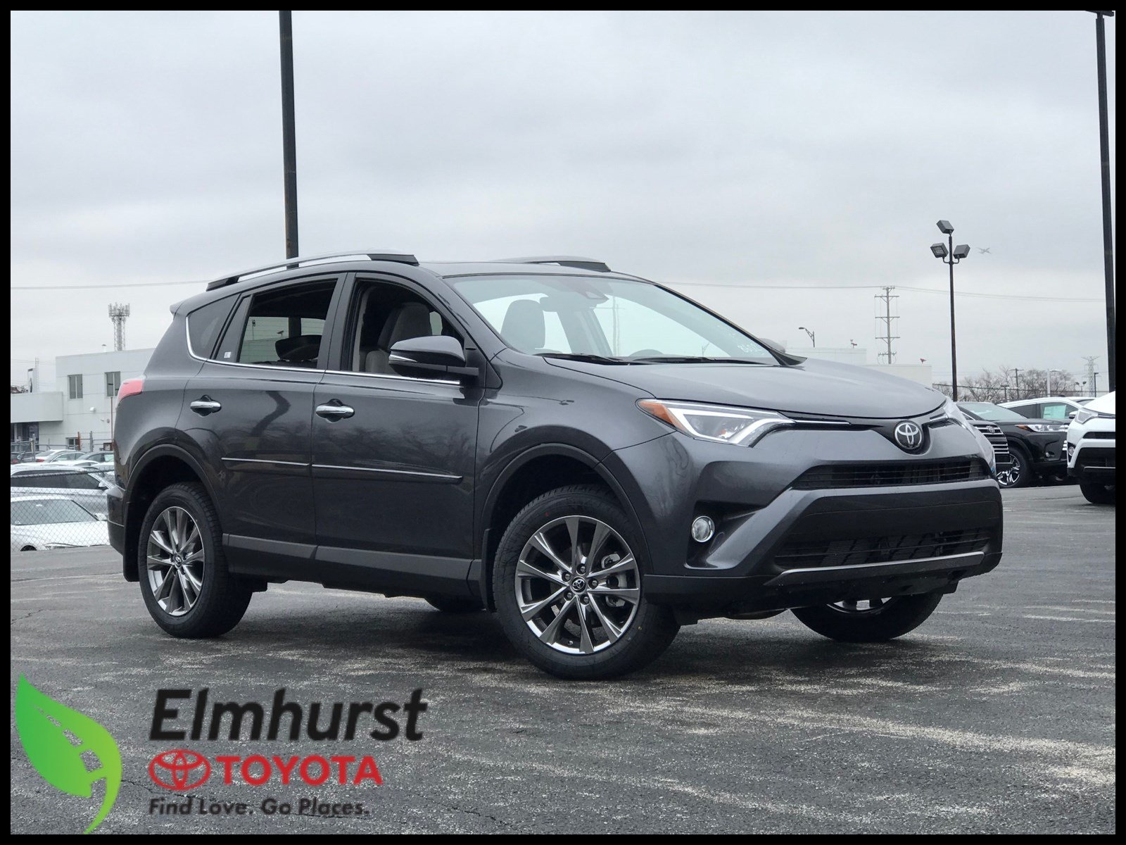 News New 2018 toyota Rav4 Limited Sport Utility In Elmhurst T New Reviews