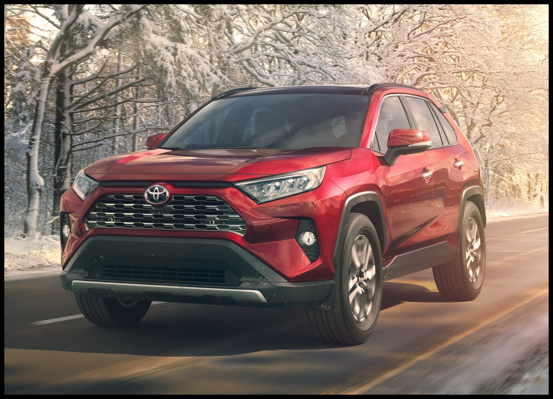 Nowa Toyota Rav4 2019 All New 2019 Toyota RAV4 Gets Aggressive In