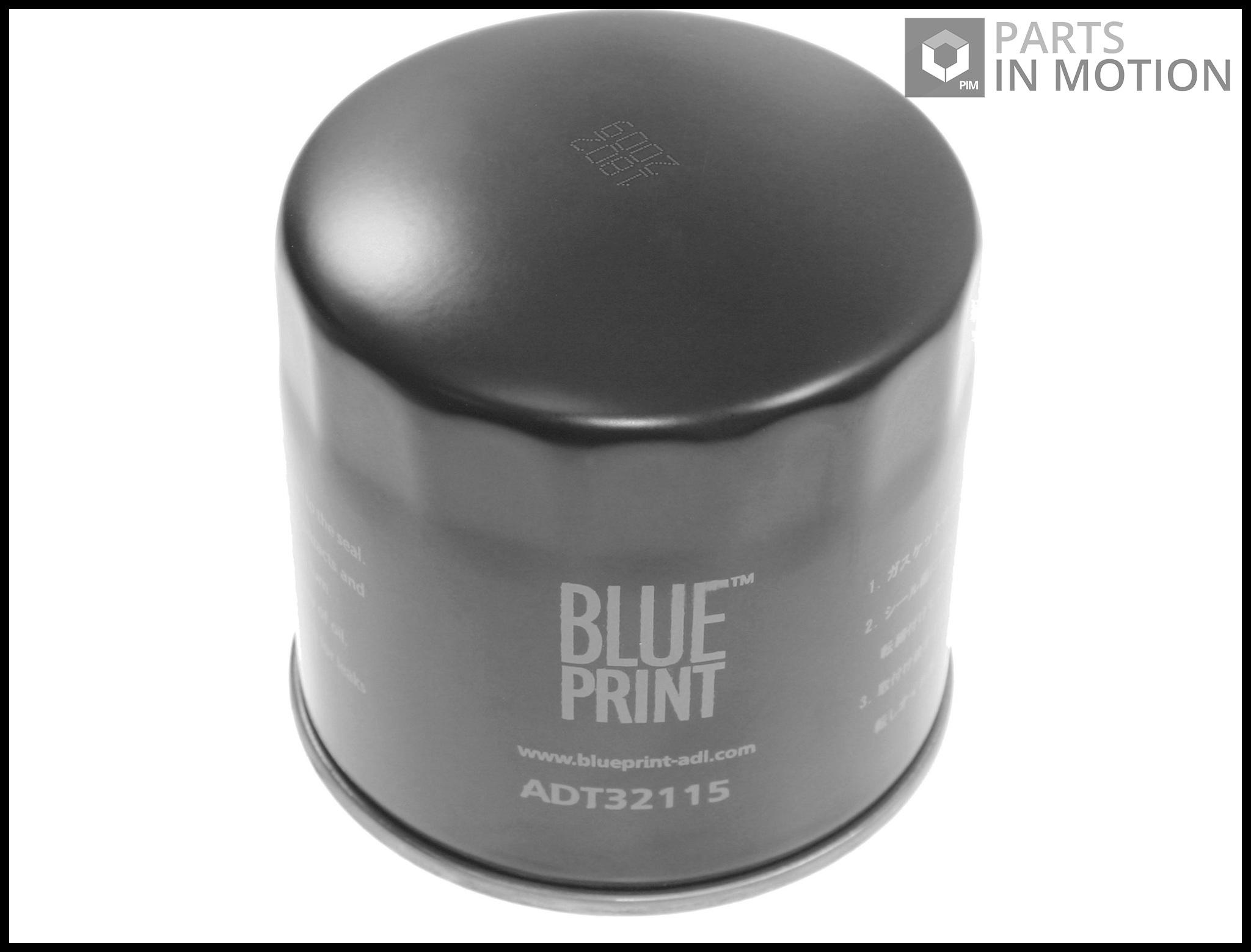Blue Print Oil Filter ADT