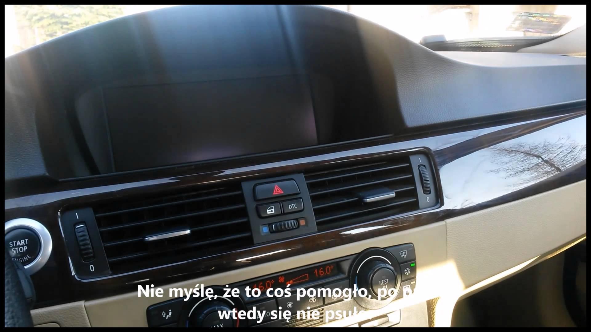 FIXED BMW CCC NAVIGATION SYSTEM keeps rebooting problem Radio restaruje się