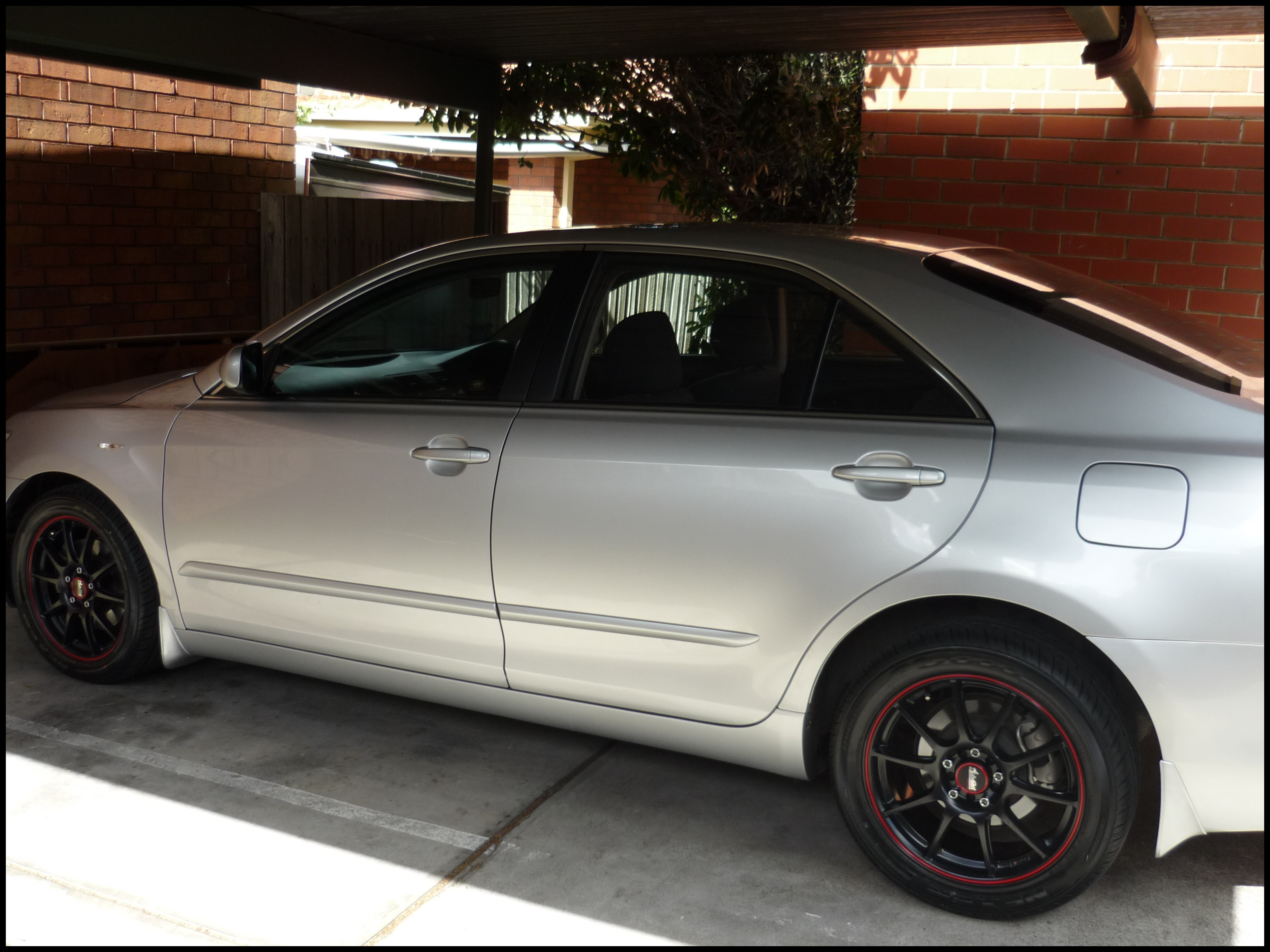2007 toyota Camry Tires Saabted 2007 toyota Camry Specs s Modification Info at Cardomain 2007