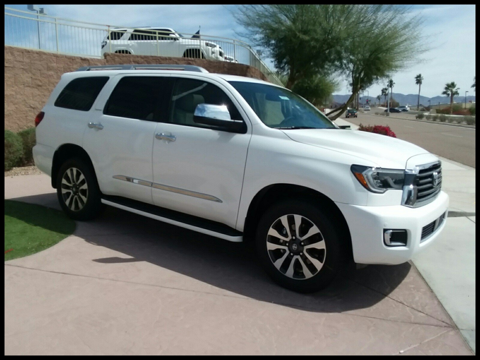 Top New 2018 toyota Sequoia Limited 4d Sport Utility In Lake Havasu City Exterior