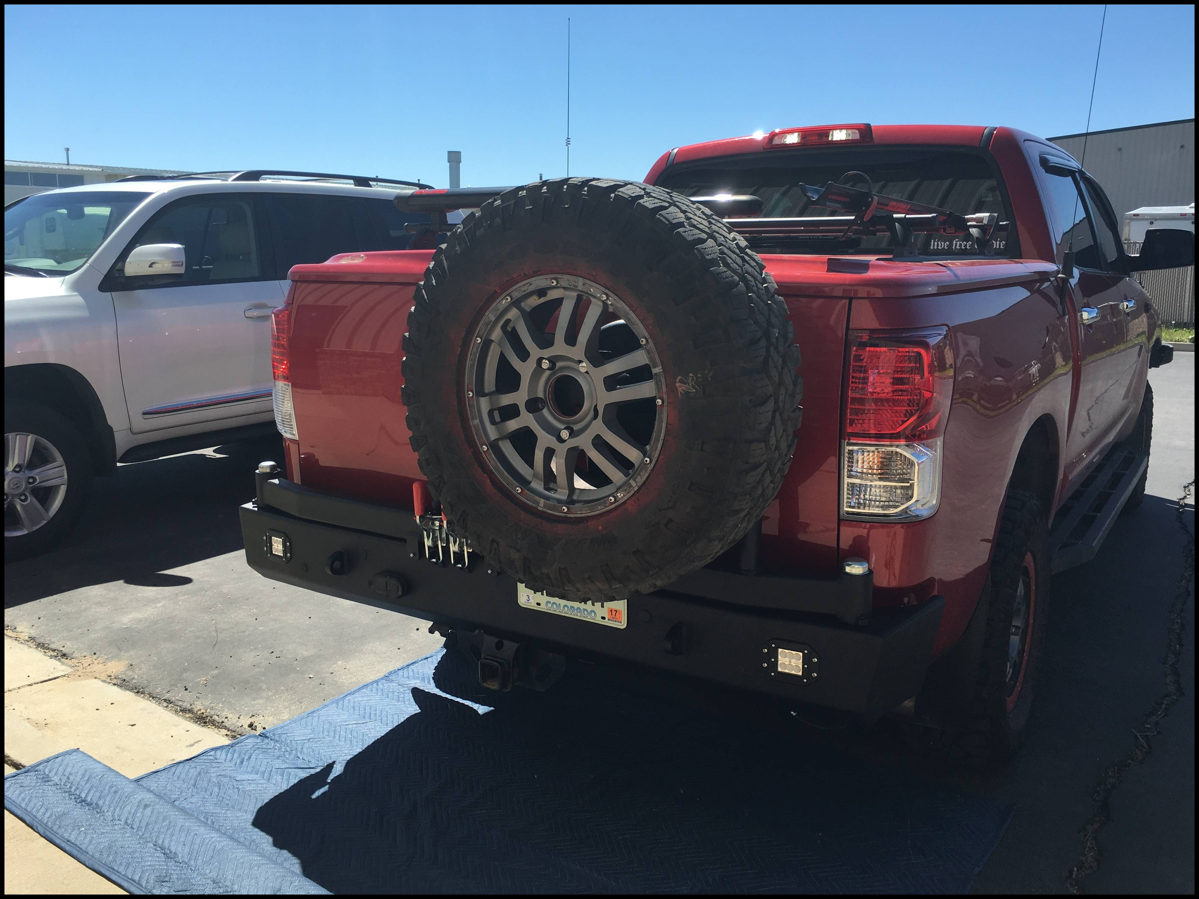 Rear Bumper with Tire Carrier Page 3 TundraTalk Toyota Tundra Discussion