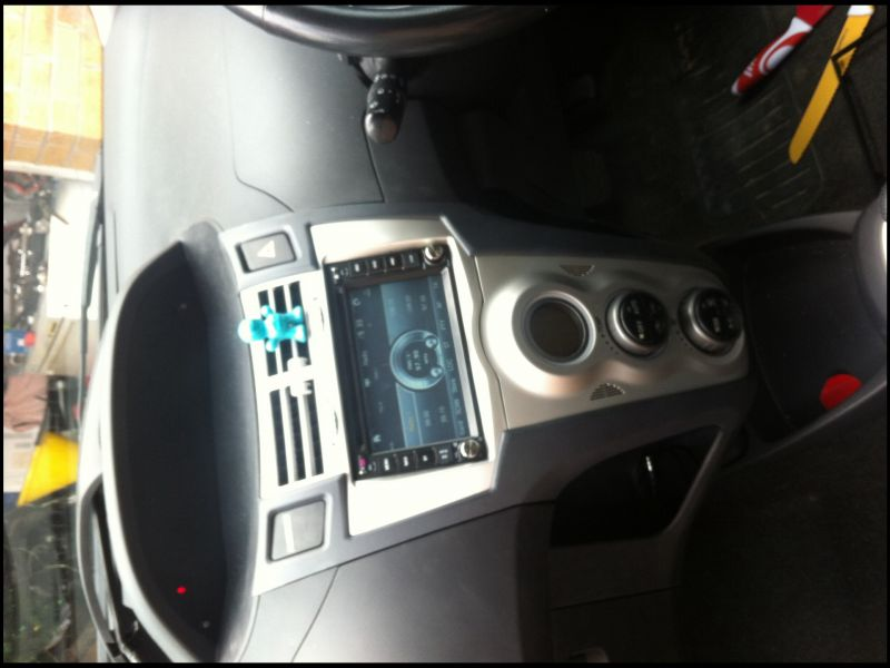 2007 toyota Yaris Double Din