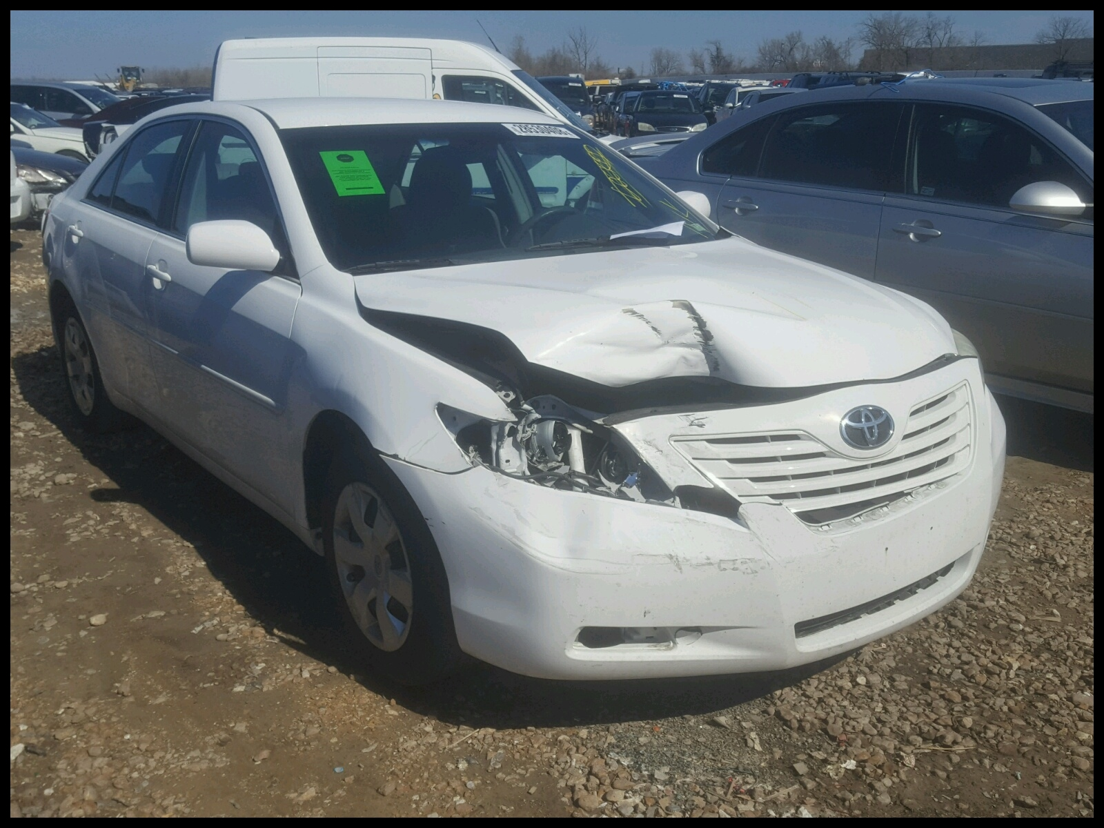 4T1BE46K37U 2007 TOYOTA CAMRY NEW 2 4L Left View