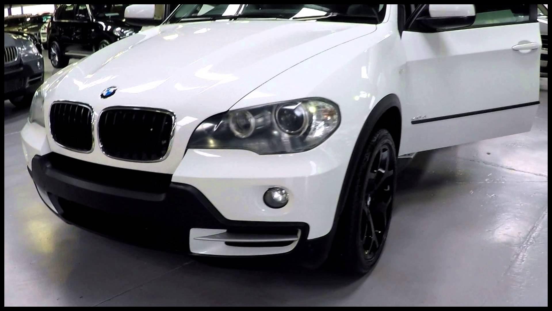 BMW X5 3 0D White 2008 SN
