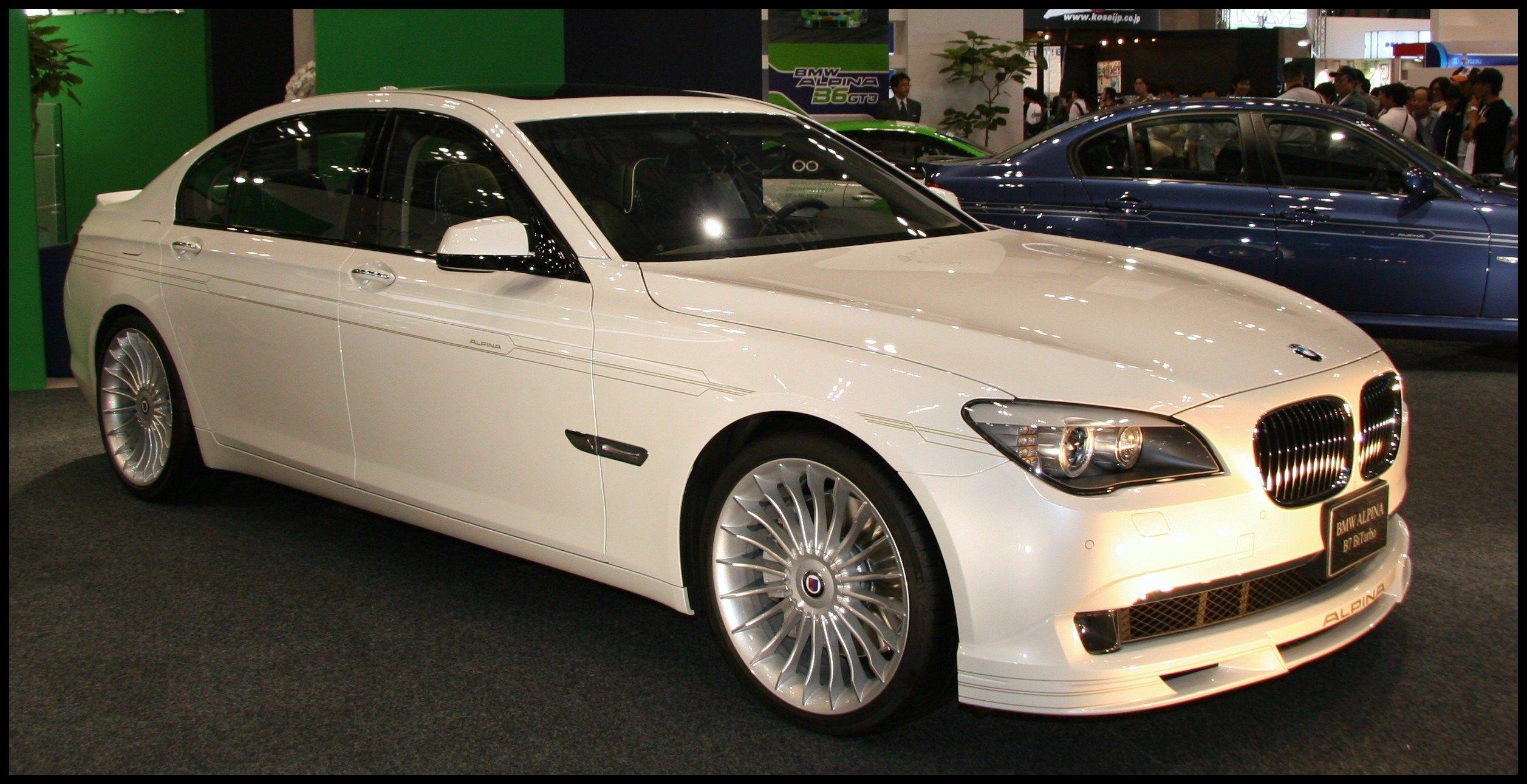 My Dream Car The BMW Alpina B7