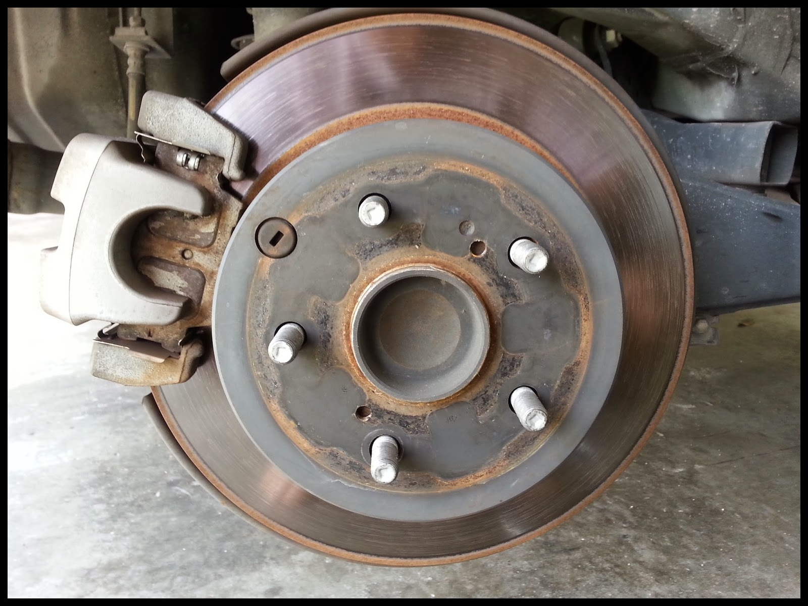 DIY 2009 Toyota Rav 4 Rear Brakes and Rotors Replacement