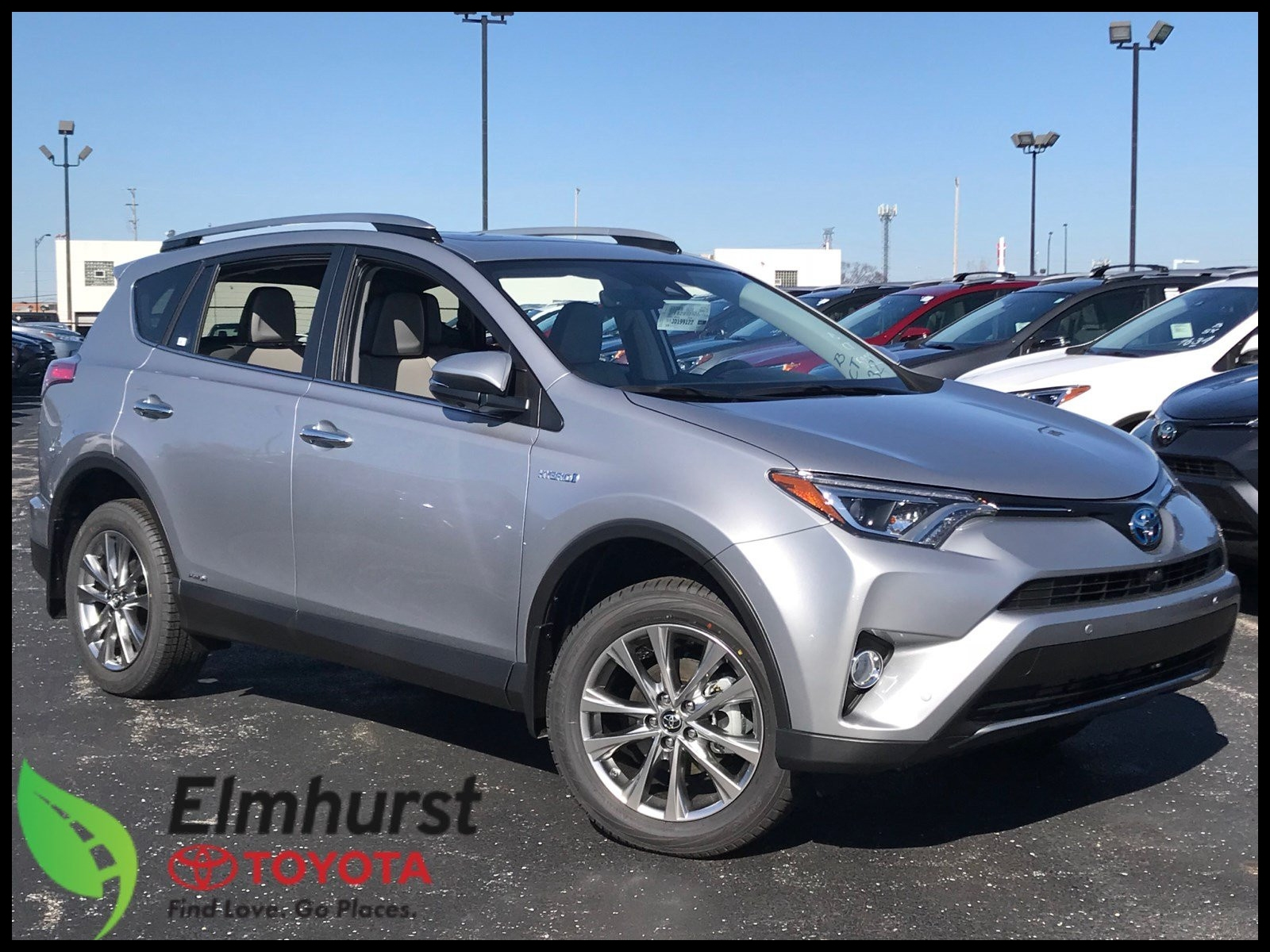 Toyota Rav4 Floor Mats Awesome New 2018 toyota Rav4 Hybrid Limited Sport Utility In Elmhurst