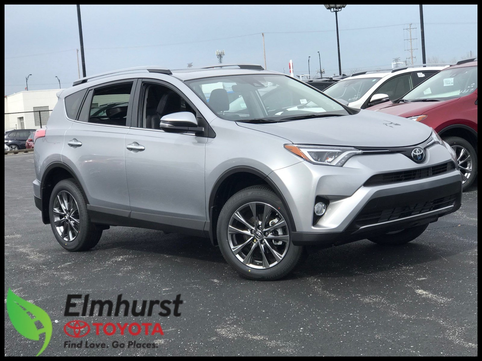 Special New 2018 toyota Rav4 Limited Sport Utility In Elmhurst T Picture