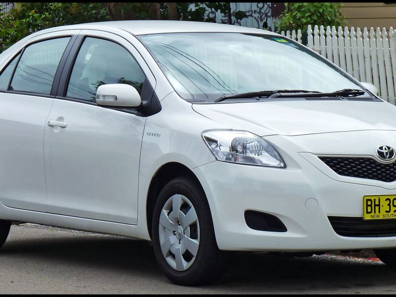 2008 toyota Yaris 4 Door Sedan