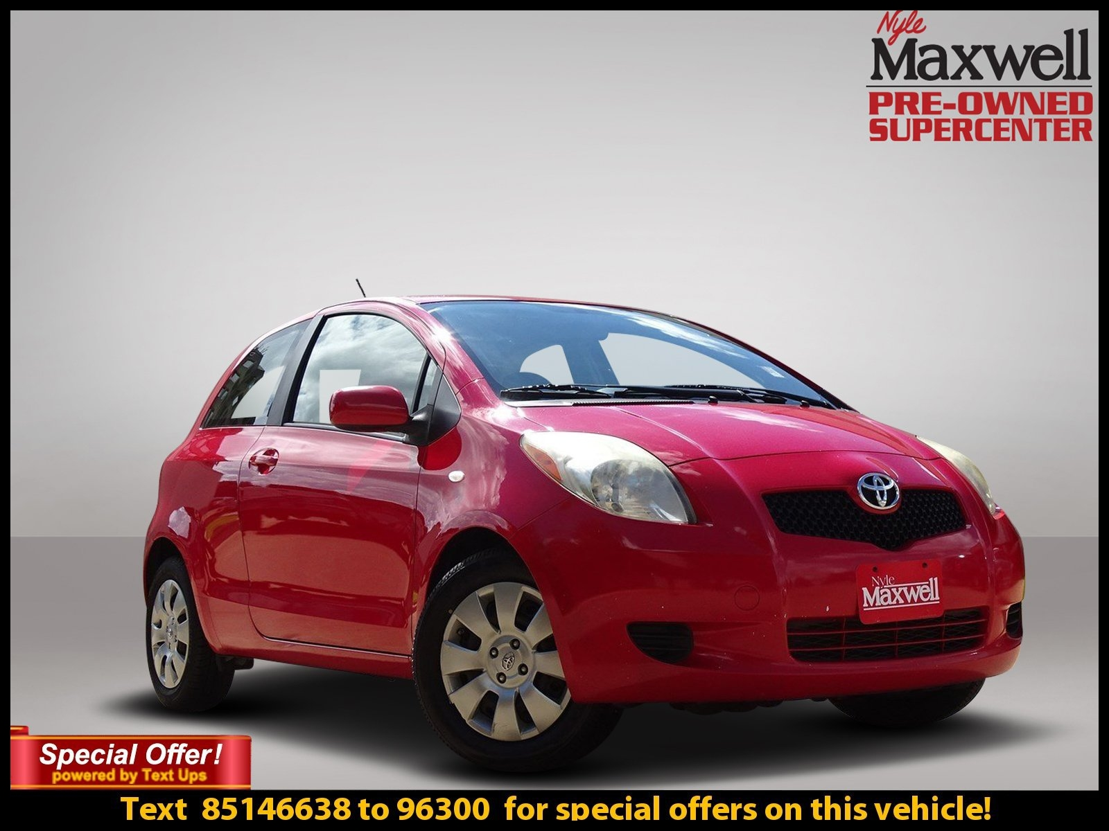 Pre Owned 2008 Toyota Yaris