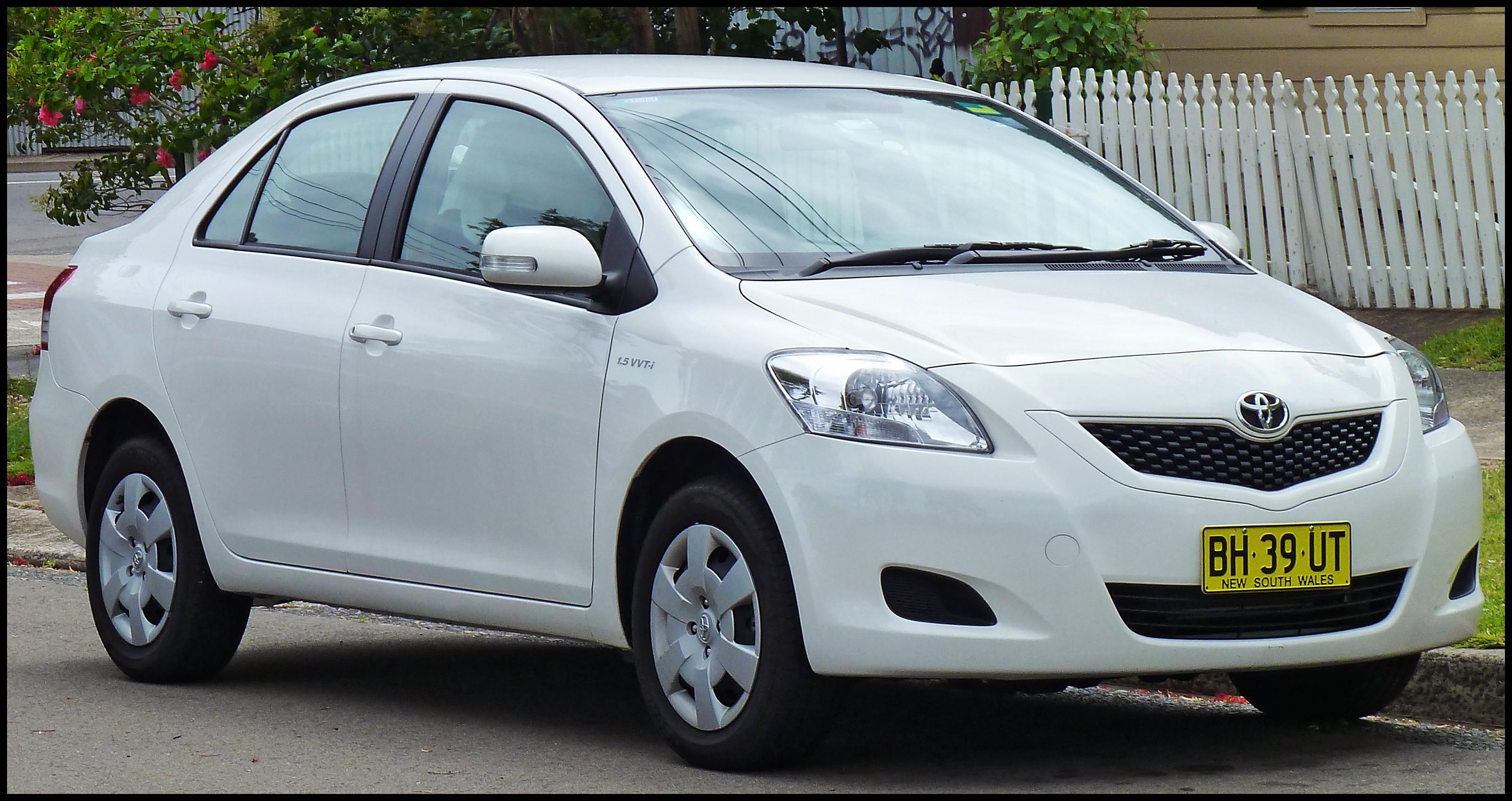 2008 Toyota Yaris 1