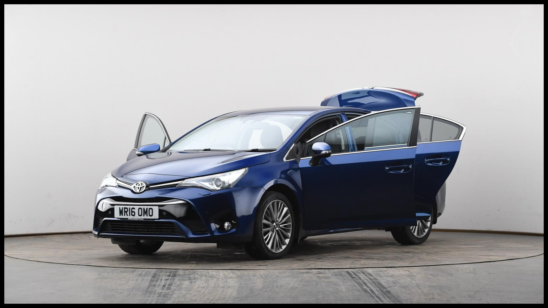 New Used toyota Avensis 2 0d Excel 4dr Blue Wr16omo Price and Release Date