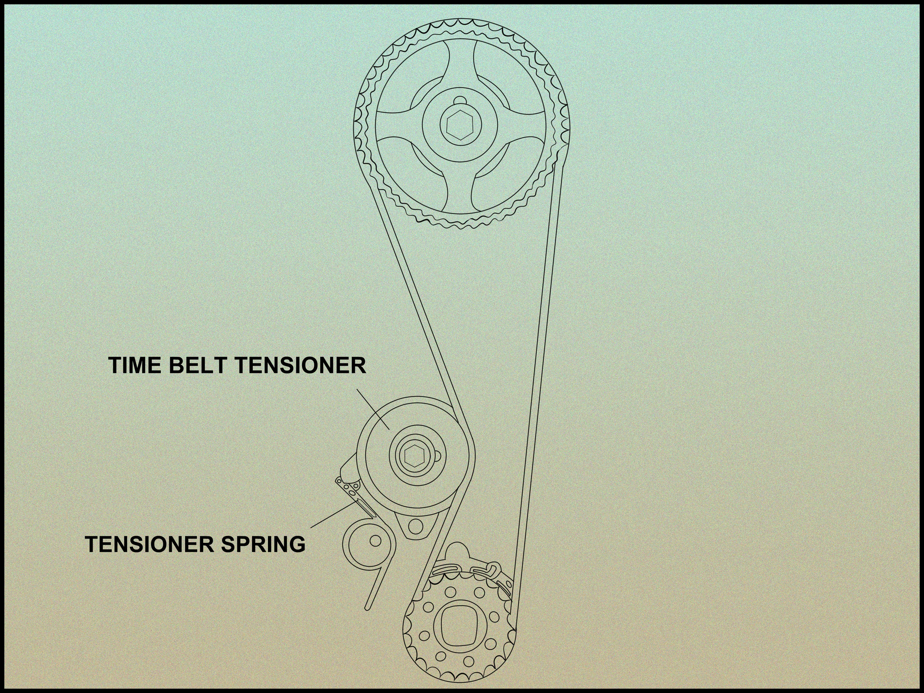 Tell if a Timing Belt Tensioner Is Bad Step 6 Version 2