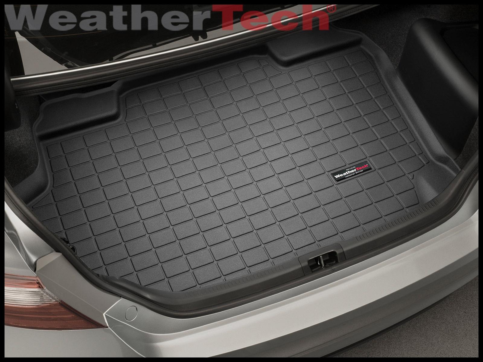 WeatherTech Cargo Liner Trunk Mat for Toyota Camry Hybrid 2012 2017 Black
