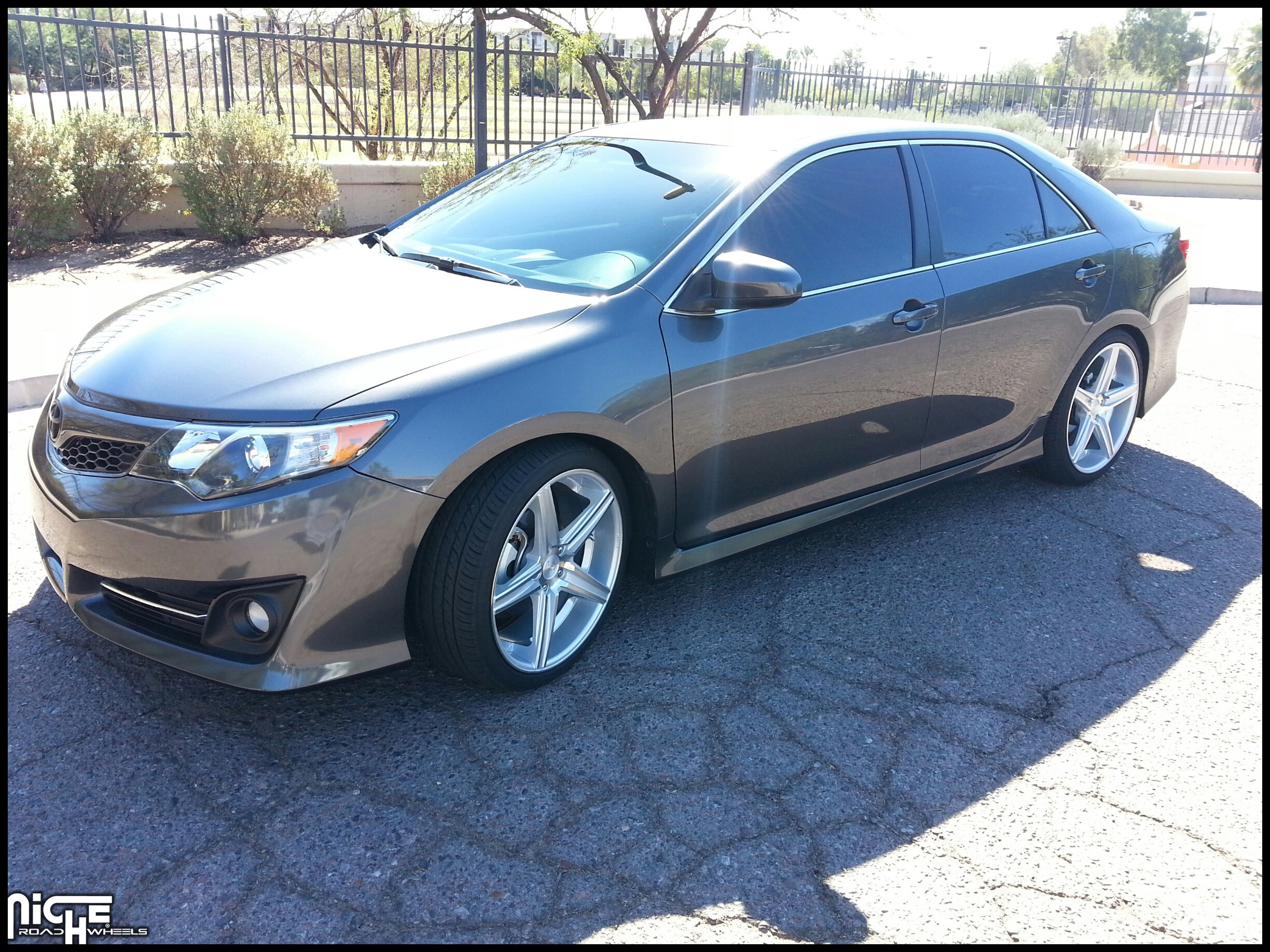 2009 toyota Camry Wheel Size Awesome toyota Camry Apex M125 Gallery Mht Wheels Inc