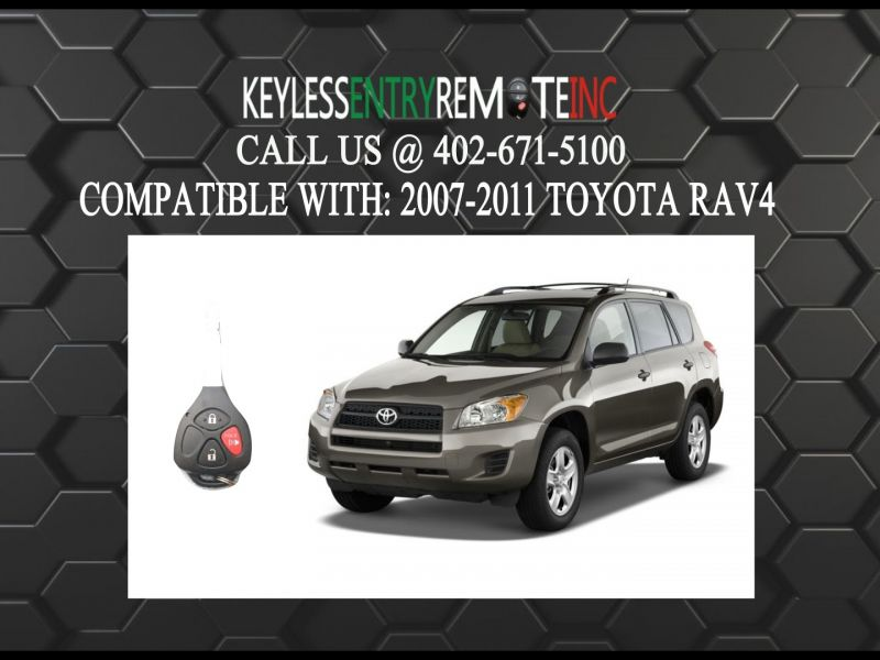 2009 toyota Rav4 Key Fob Battery Replacement
