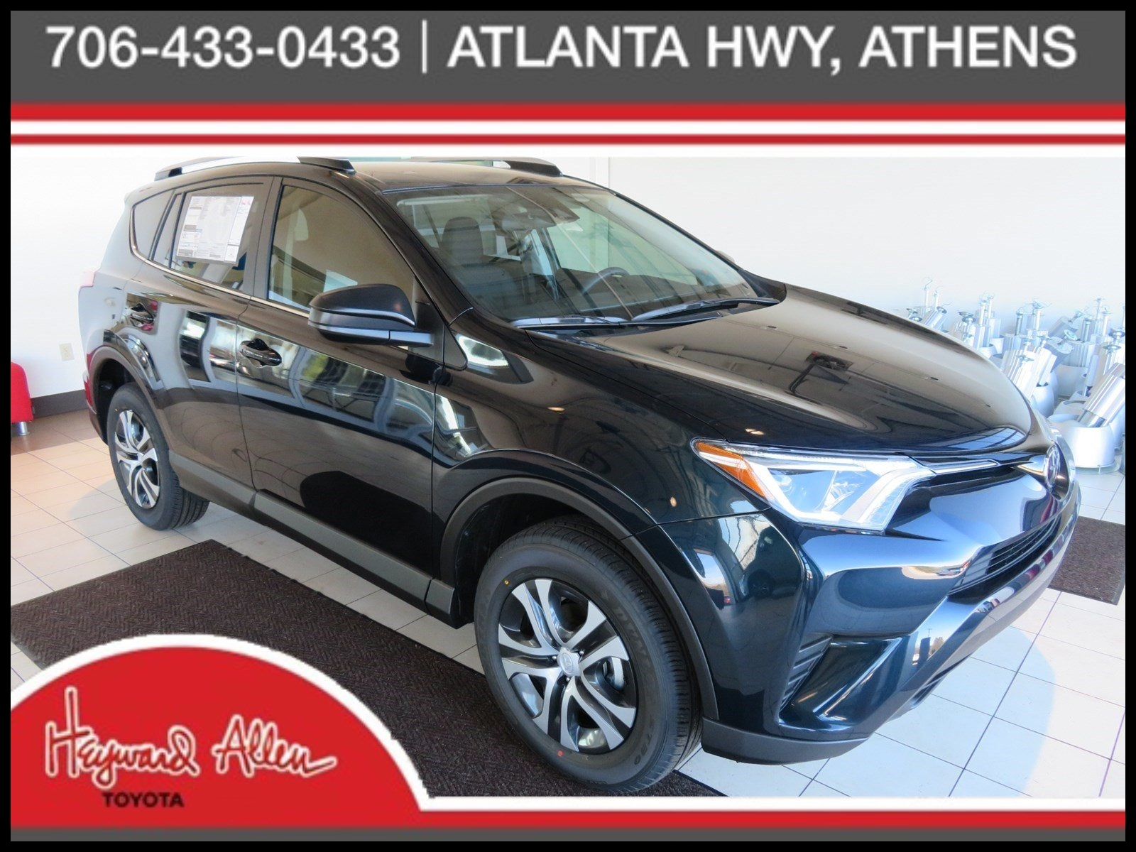 New New 2018 toyota Rav4 Le Sport Utility In athens Jj New Interior