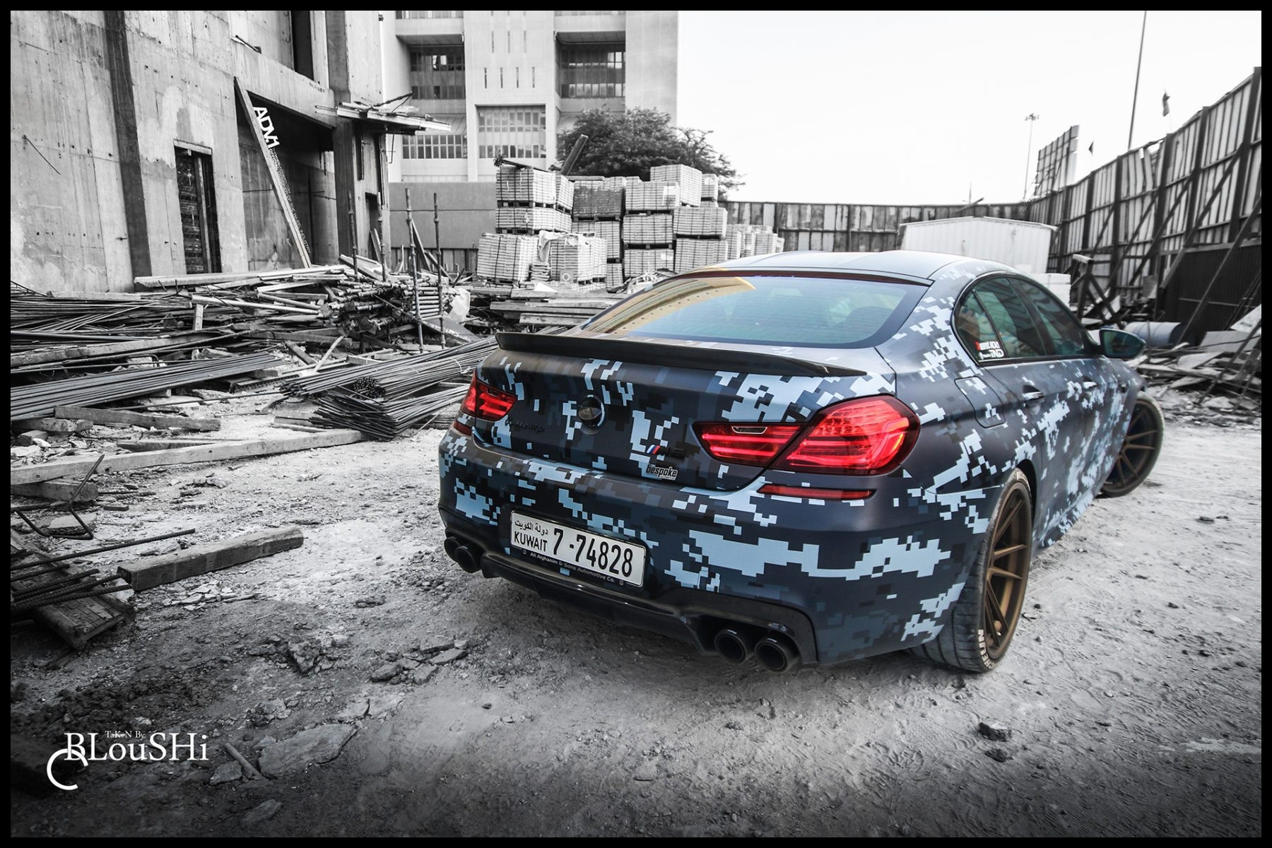 Bmw M6 Gran Coupe Ready To Blend In It S Got Adv 1 S Too Adv 1 Cool Bmw 1 Coupe Wallpaper