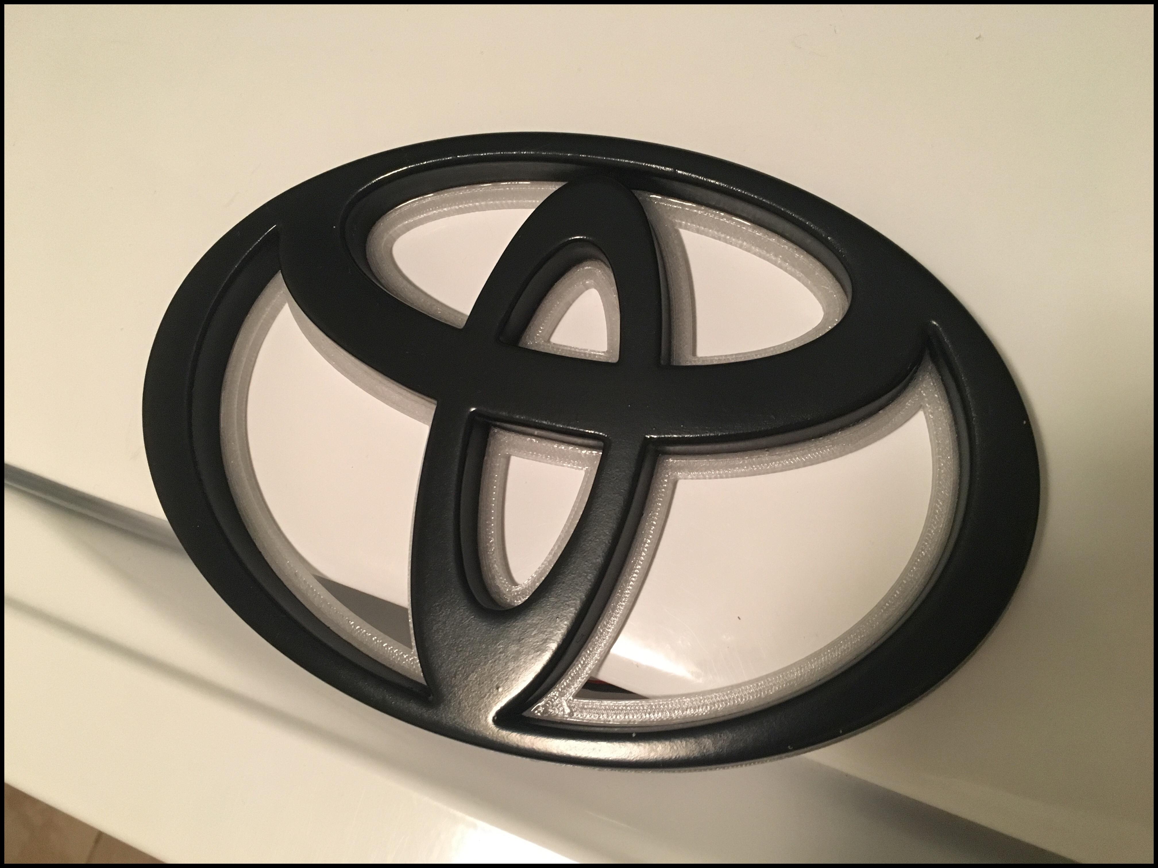 Home Toyota Tundra CUSTOM LED BACKLIT TUNDRA EMBLEM