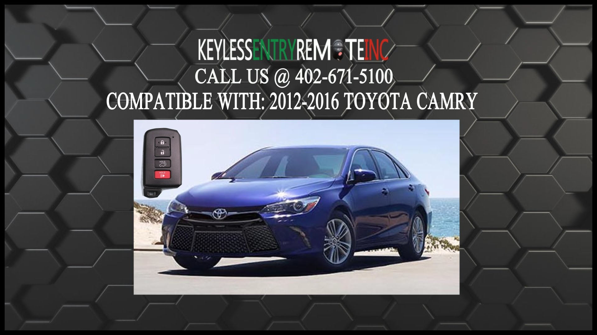 News toyota Camry Keyless Entry Remote Battery How to Replace Key Battery Exterior and Interior Review