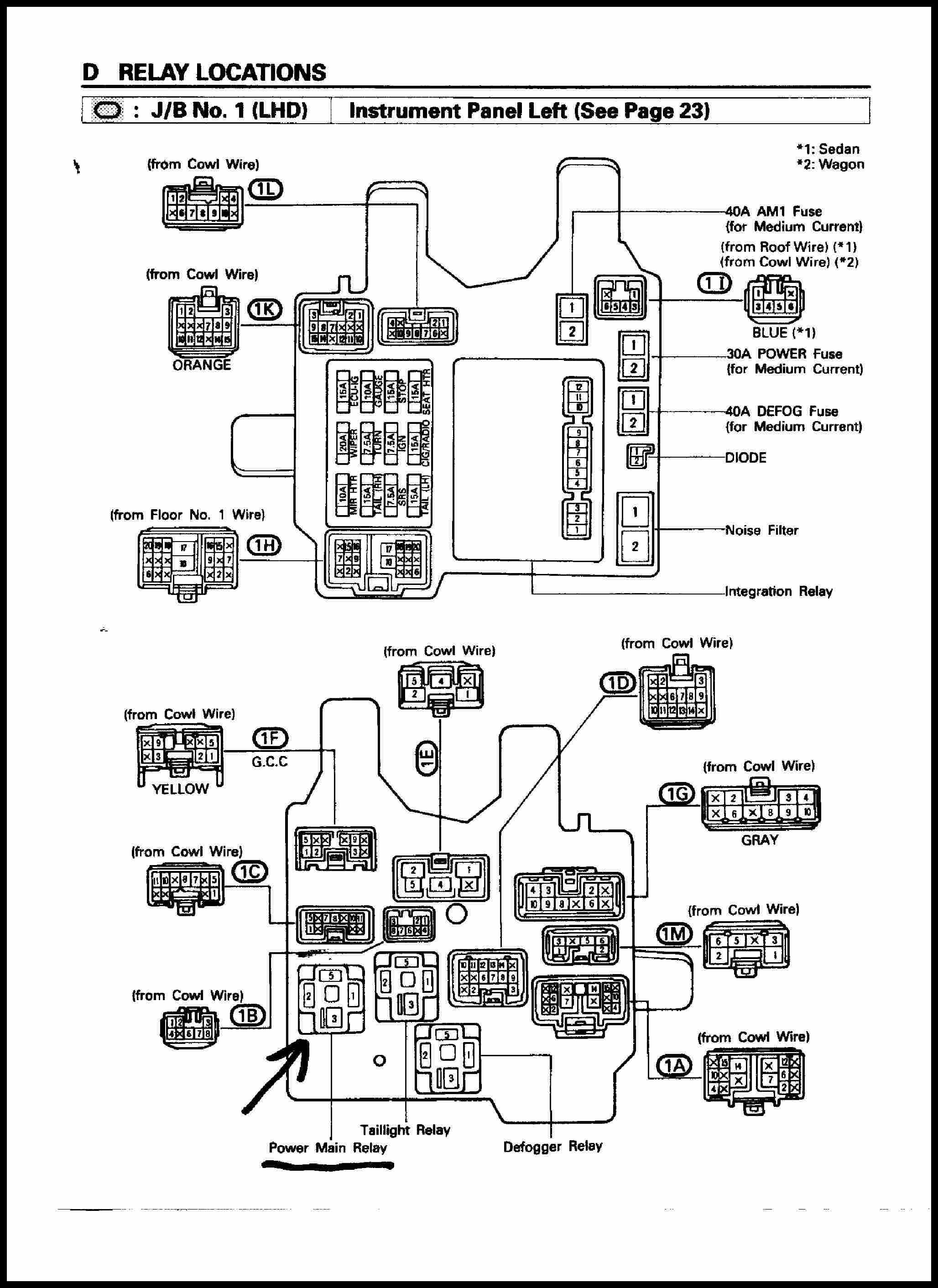 1996 toyota Camry Spark Plug Wire Diagram Best 1997 toyota Corolla Wiring Diagram 2012 10